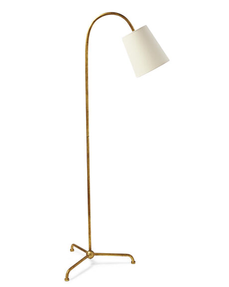 Floor lamps ceramic table lamps serena lily for Cole brass floor lamp serena and lily
