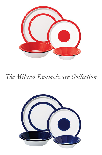 The Milano Enamelware Collection