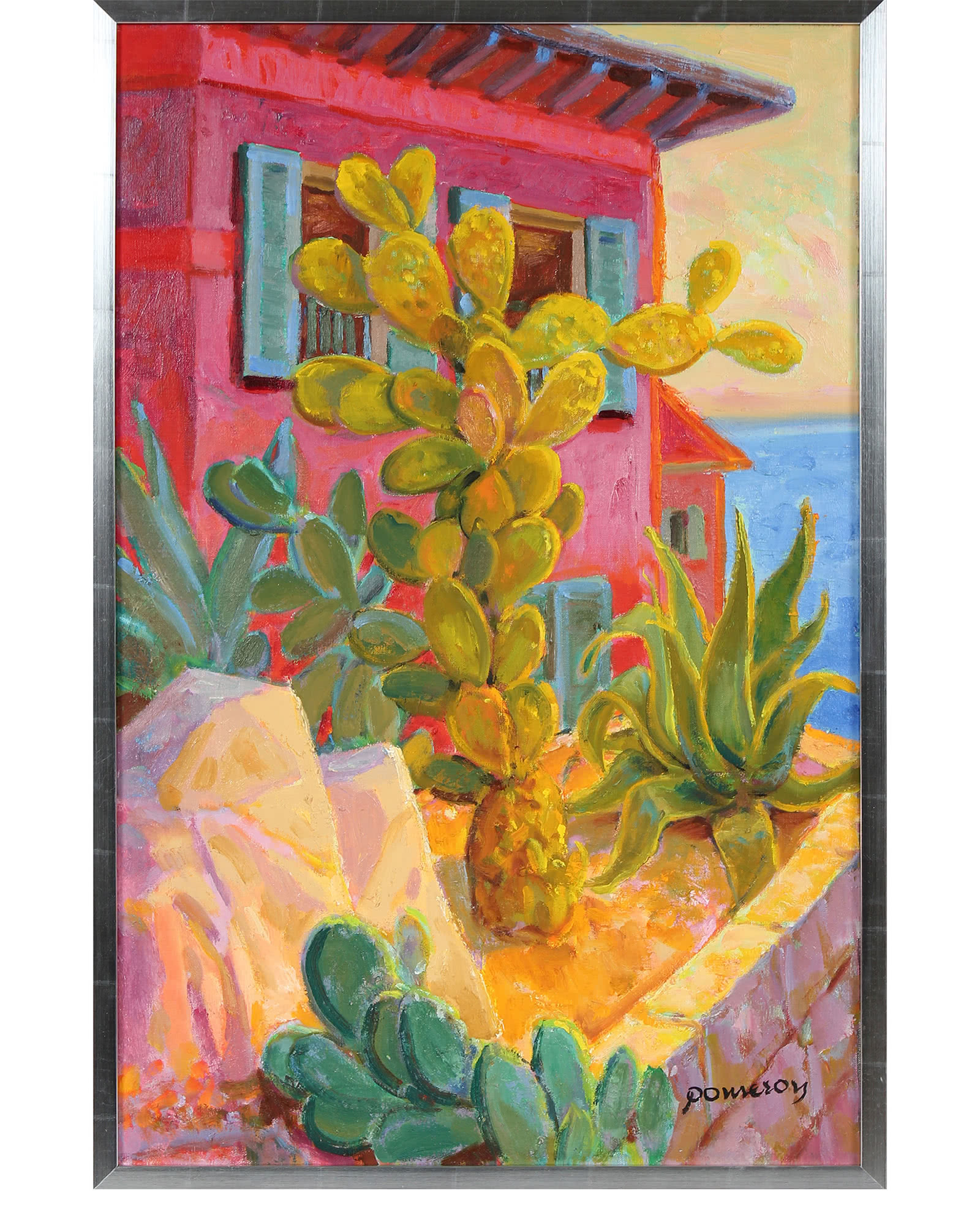 Cactus at the Desert House by Frederick Pomeroy