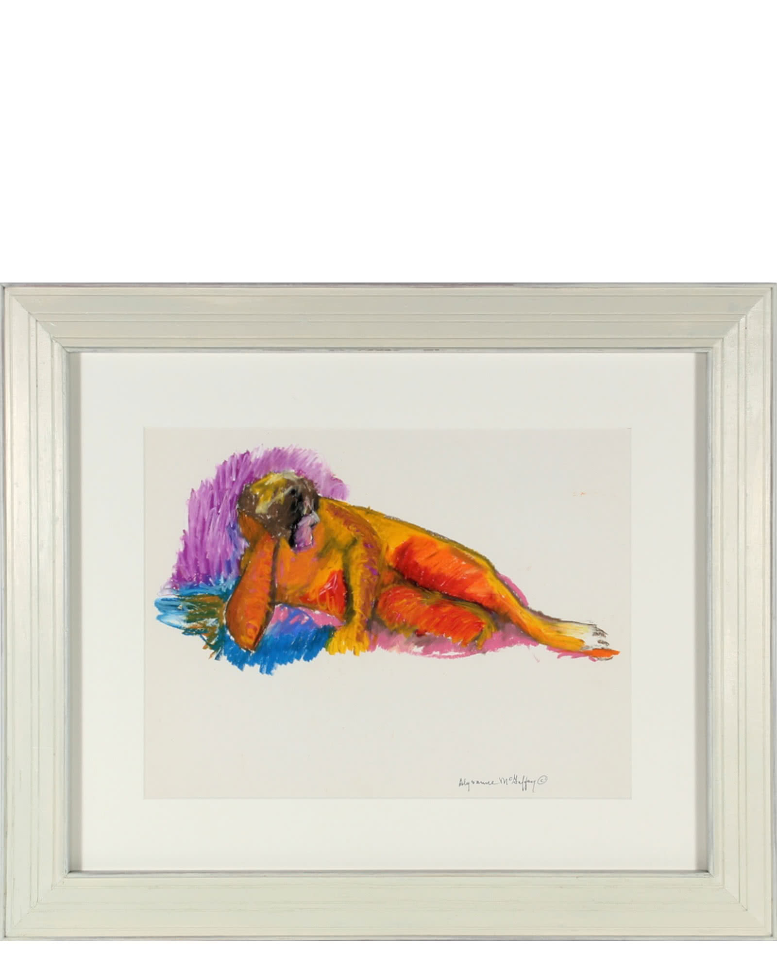 Colorful Nude by Alysanne McGaffey