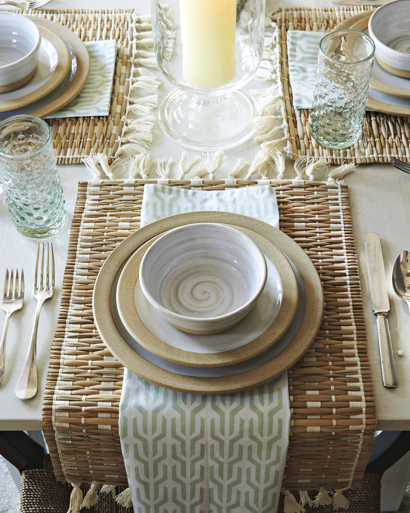 cabo woven placemats set of 4 serena lily cabo woven placemats