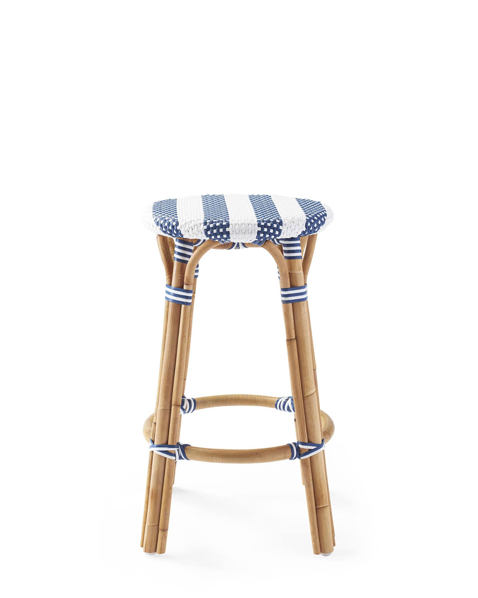 Riviera Backless Counter Stool - Striped