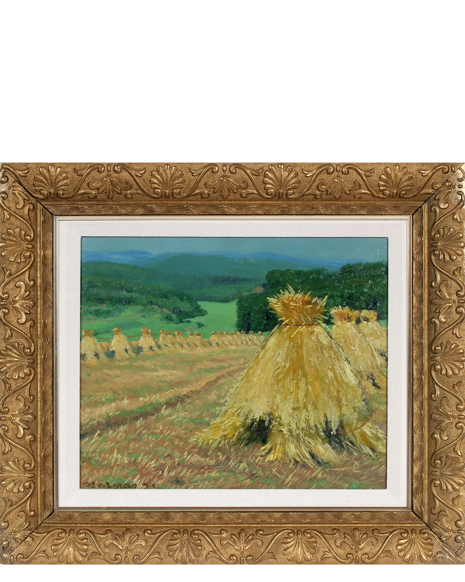 """Oat Harvest"" by Carl Barnas"