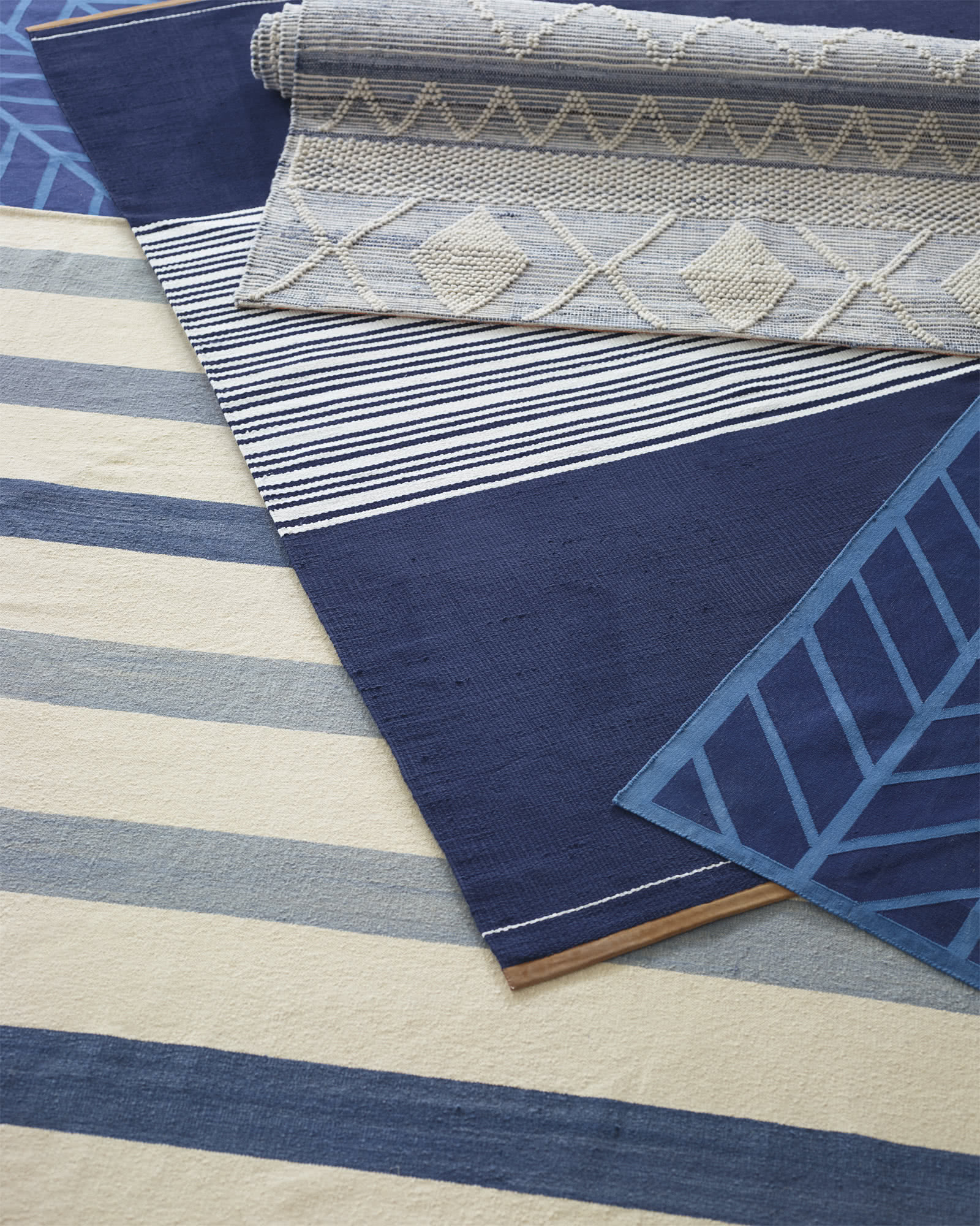 Thatcher Cotton and Suede Rug
