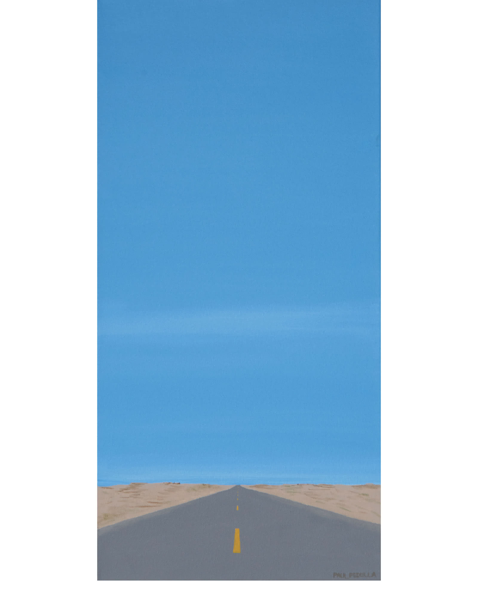 Road, Sand, and Sky by Paul Pedulla