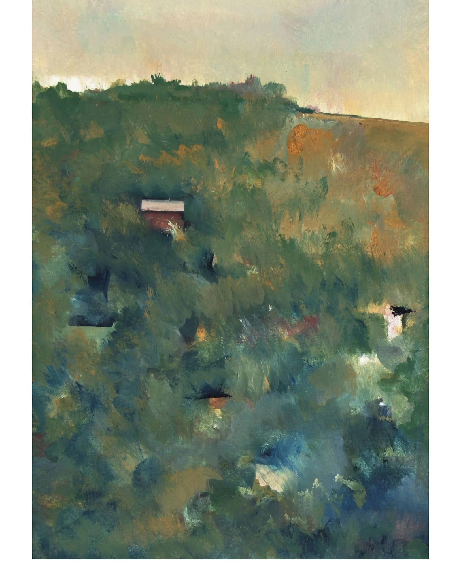 """""""Morning Landscape in Abstraction"""" by Schuyler Standish"""