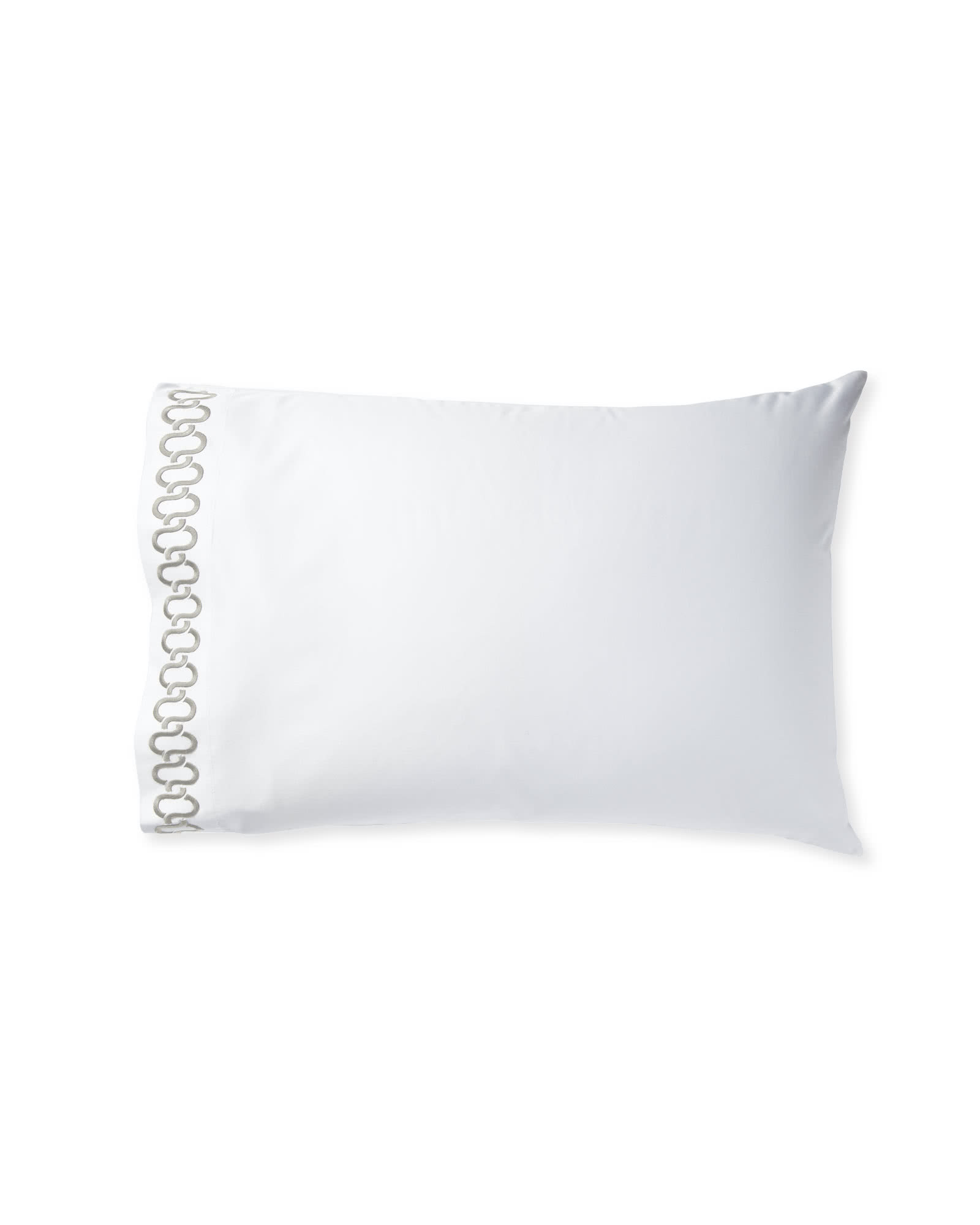 Extra Savoy Links Embroidered Pillowcases - Set of 2