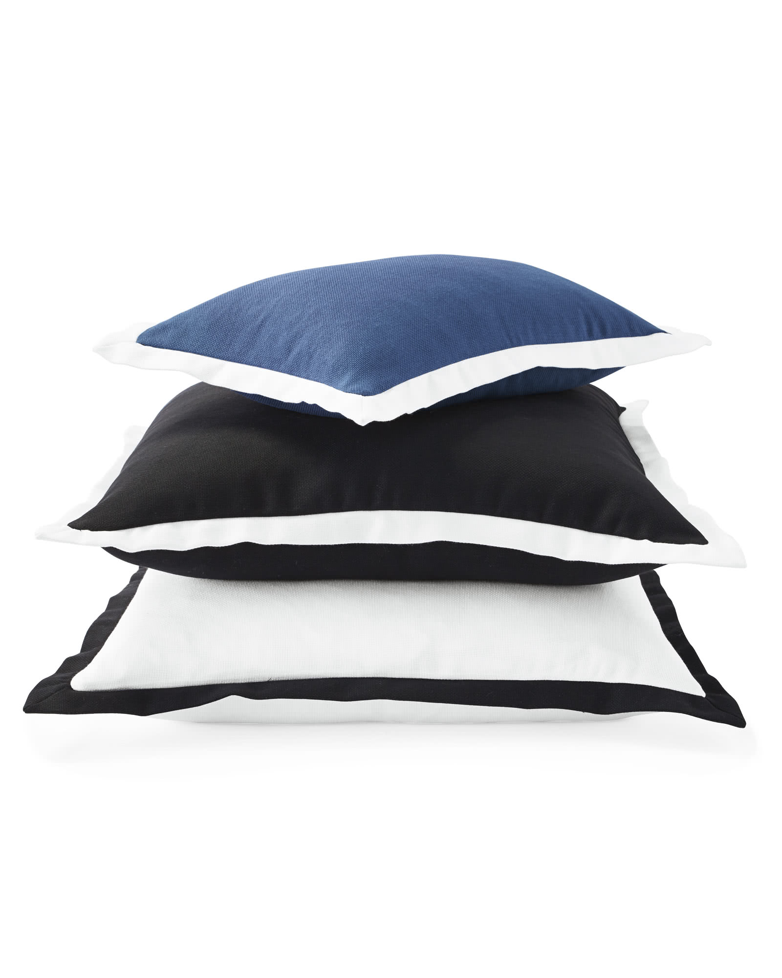 Border Frame Outdoor Pillow Cover