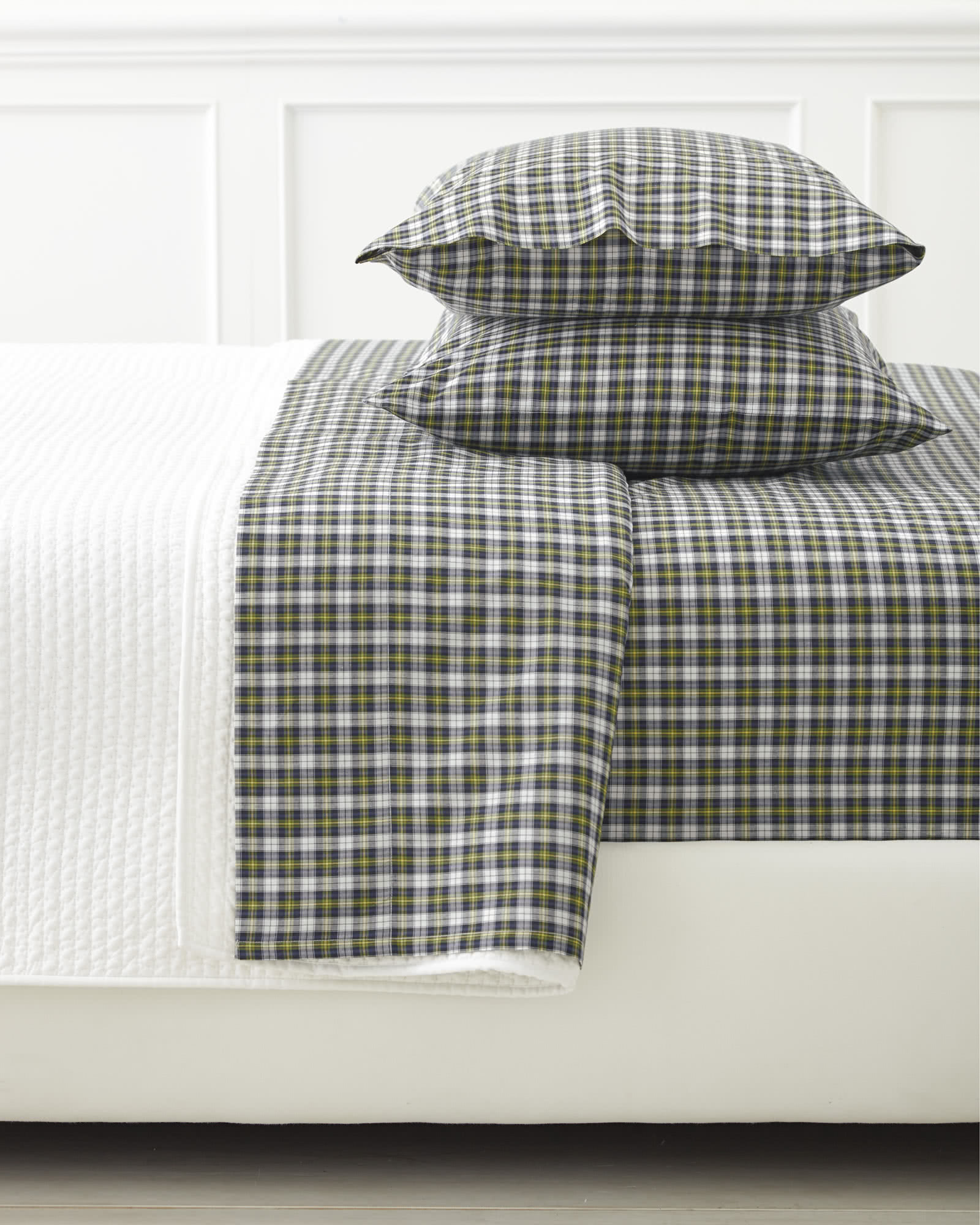 Extra Mackenzie Plaid Standard Pillowcases (Set of 2)
