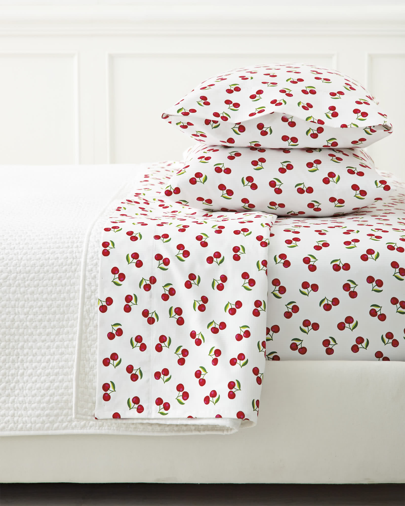 Extra Cherries Standard Pillowcases (Set of 2)