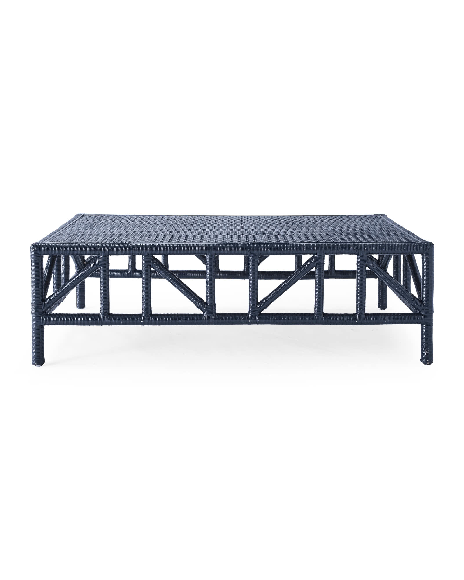 trestle coffee table serena lily