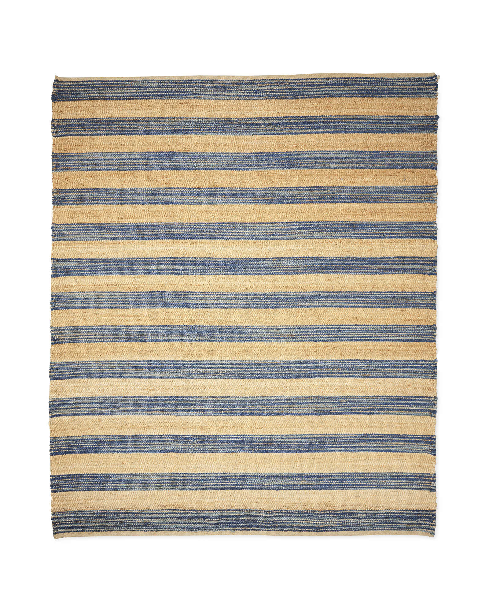 Exceptional Jute Broad Stripe Rug