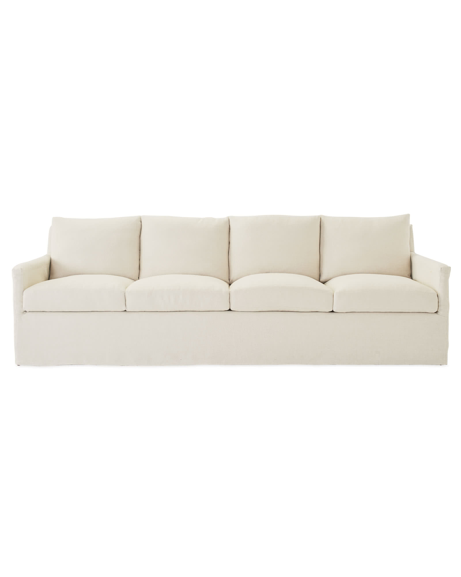 Spruce Street 4-Seat Sofa – Slipcovered