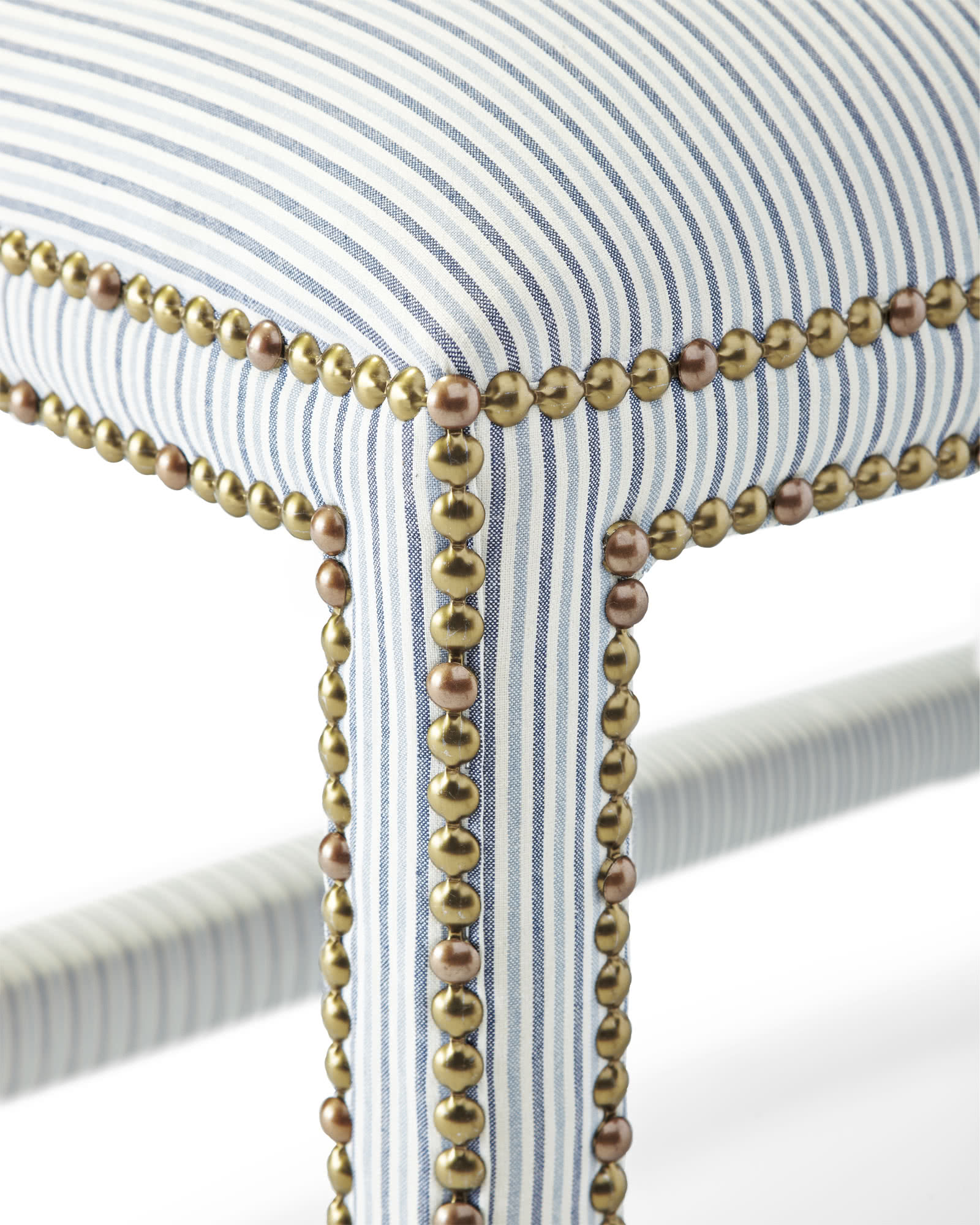 Dorset Bench with Nailheads