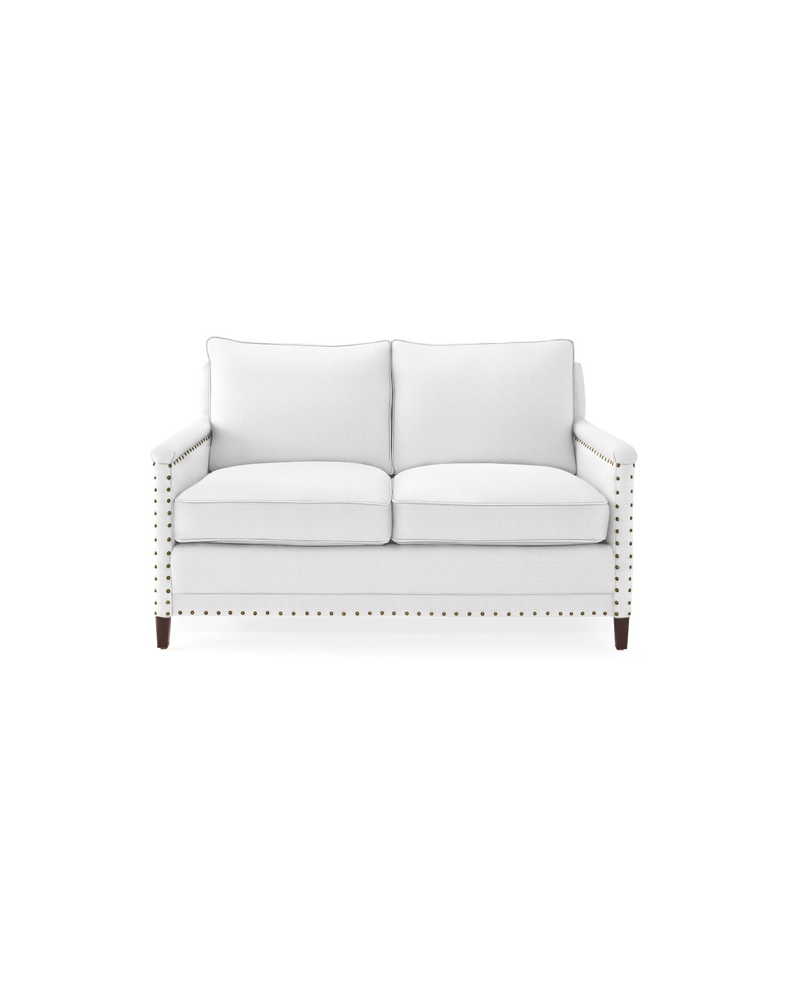 Spruce Street Loveseat with Nailheads