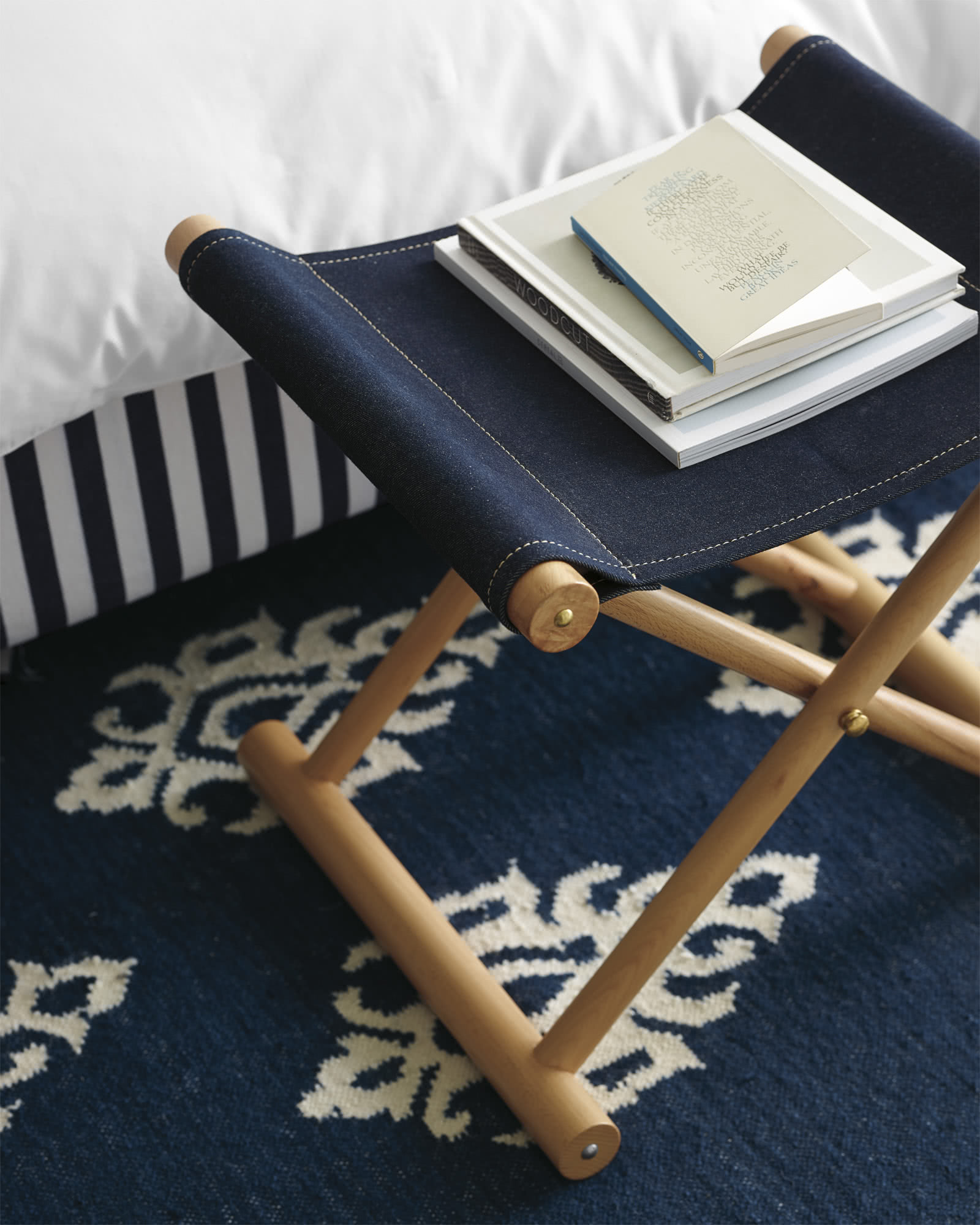 Cooper Denim Stool