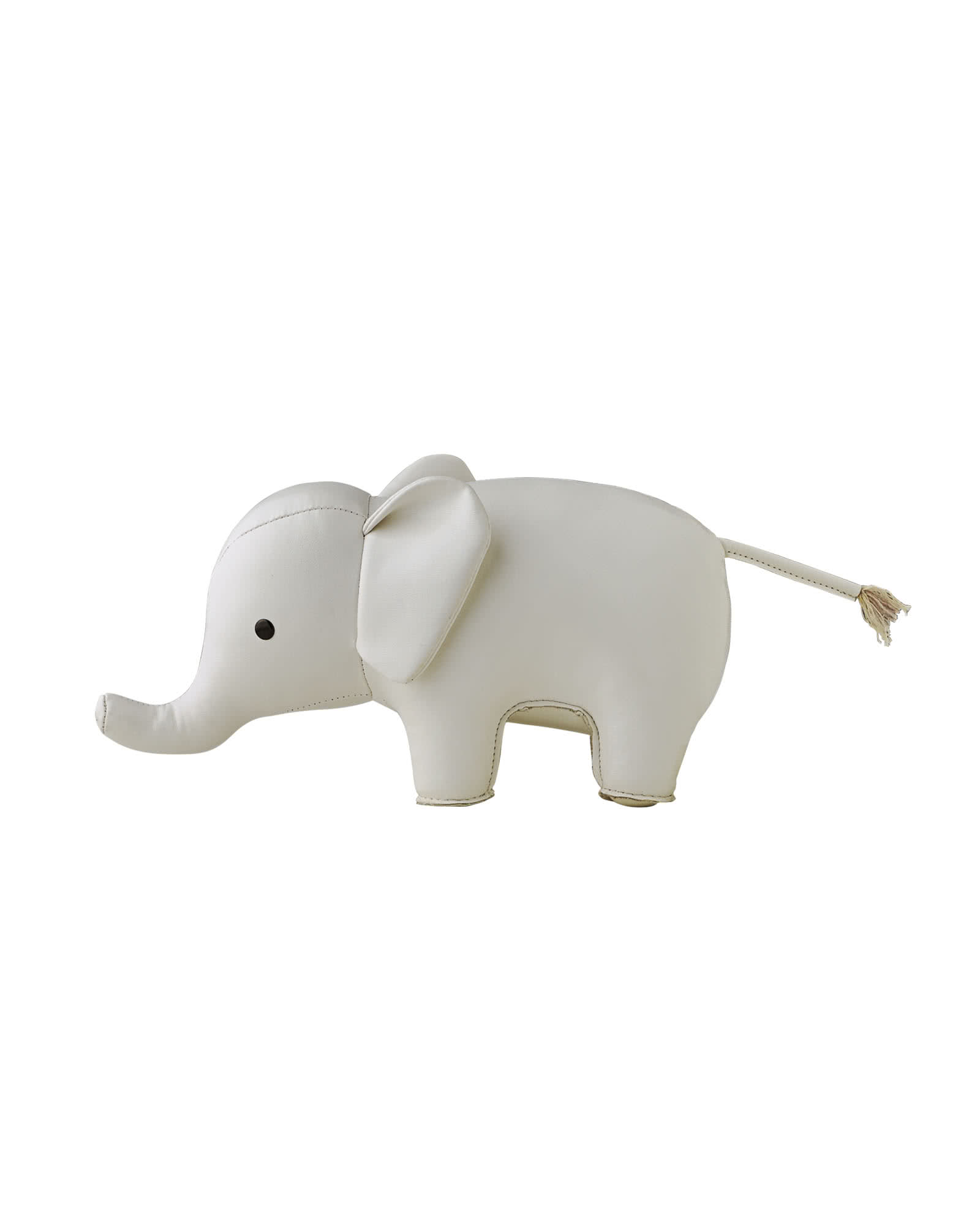 Menagerie Bookend - White Elephant