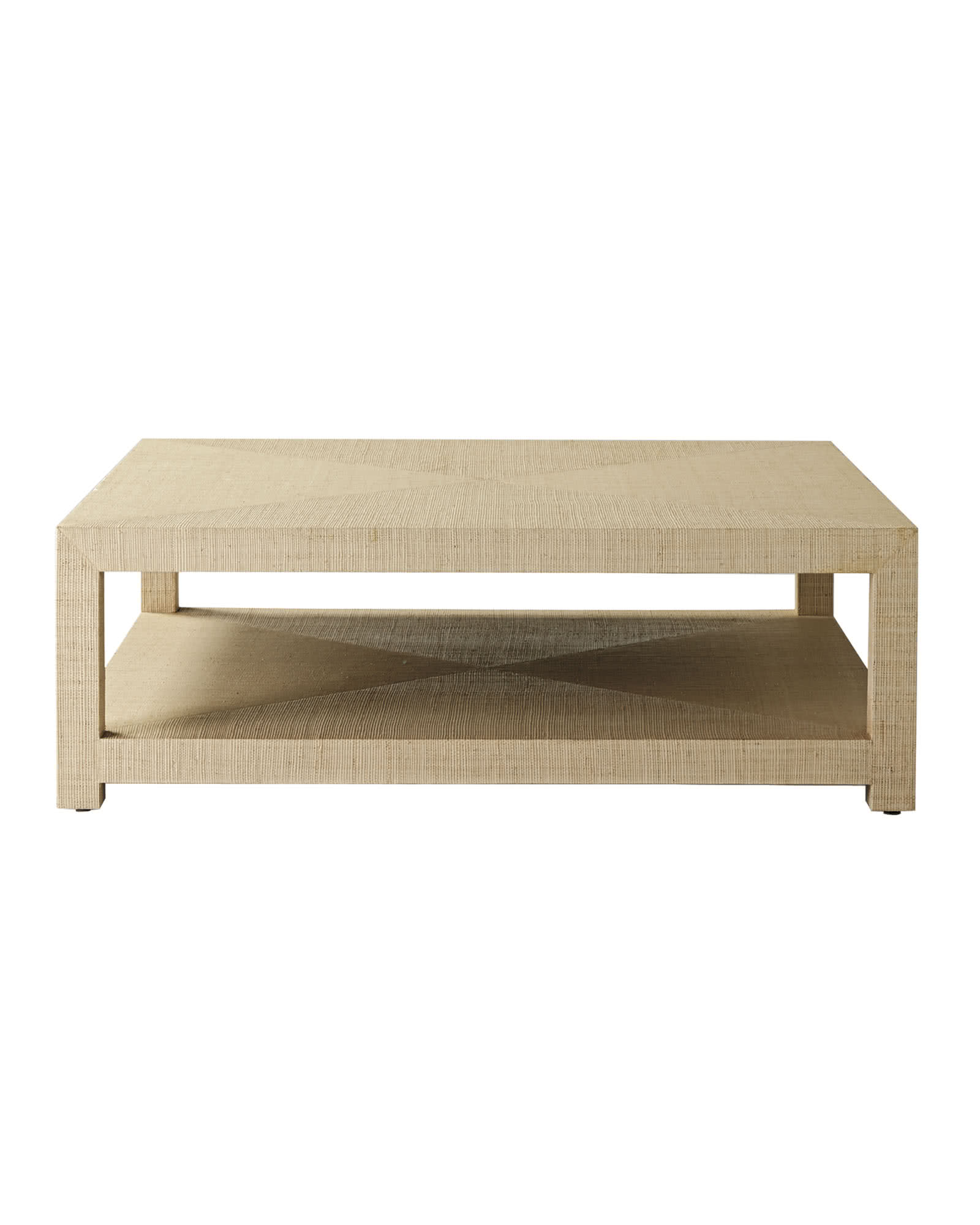 Blake Raffia Square Coffee Table. Blake Raffia Square Coffee Table   Serena   Lily