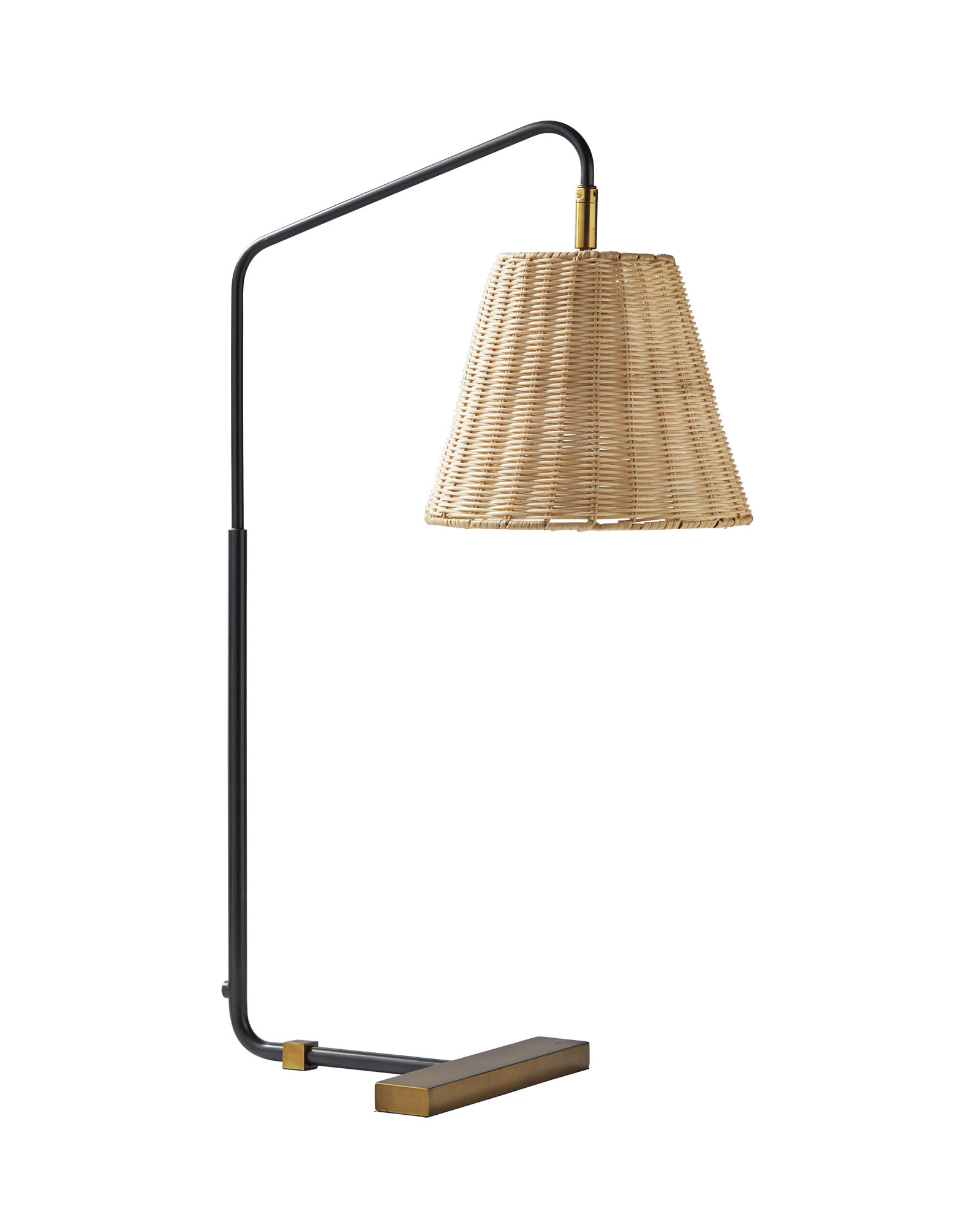 Flynn Table Lamp - Wicker