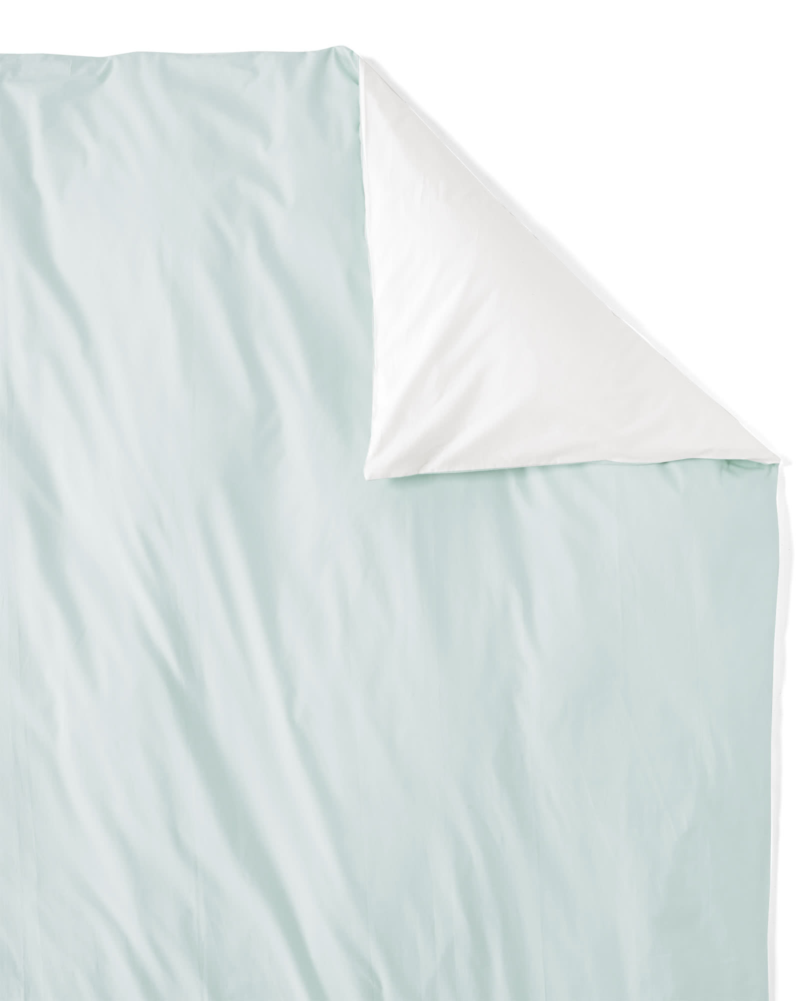 Washed Percale Duvet Cover
