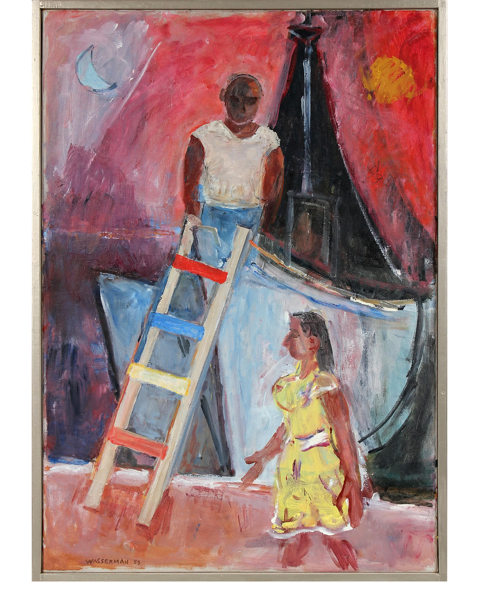 The Ladder and The Boat by Gerald Wasserman