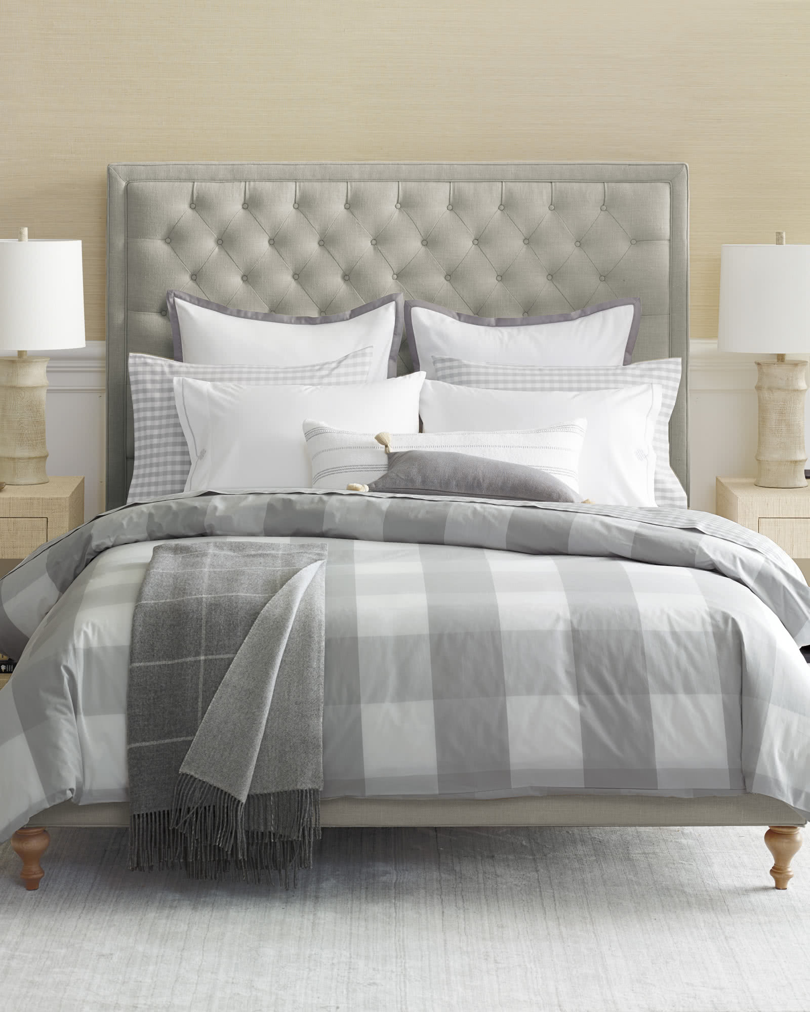 Fulton Tufted Bed