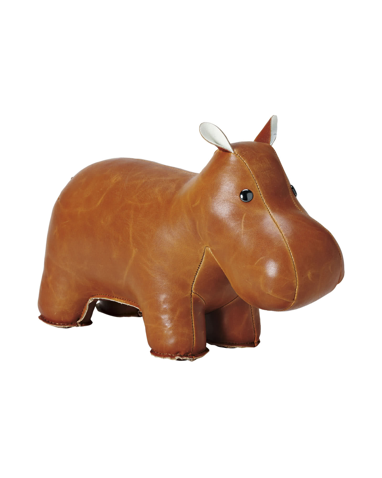 Menagerie Bookend - Brown Hippo