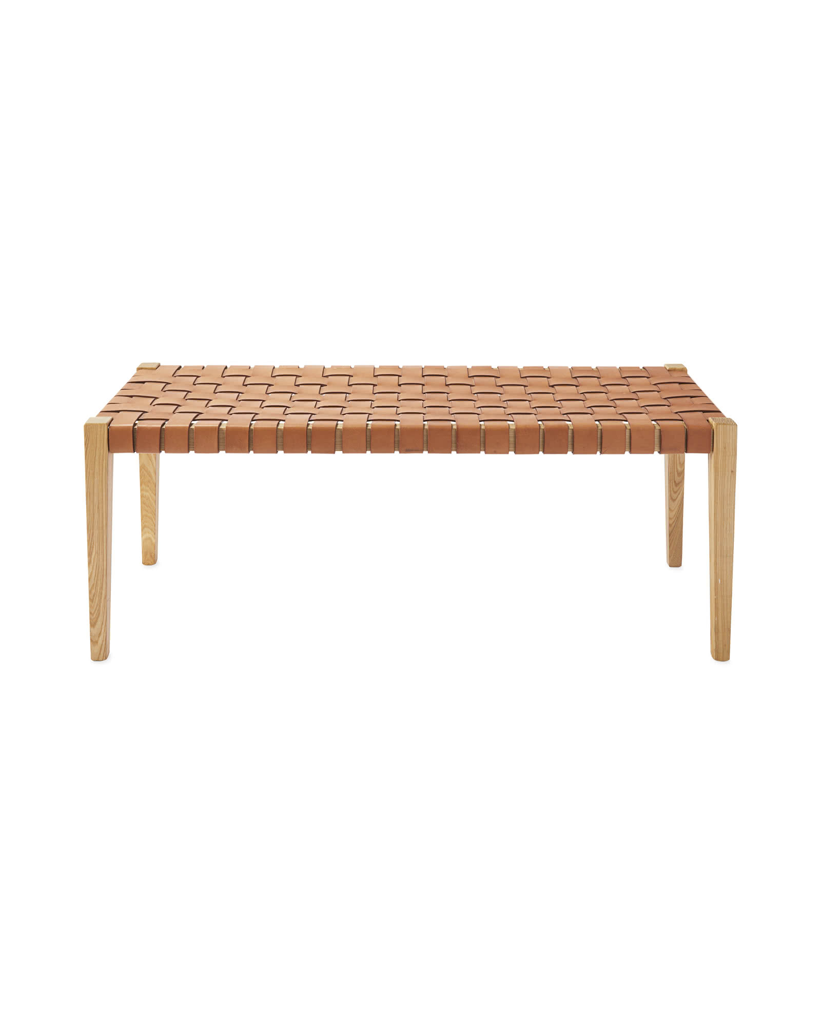 Collins Leather Bench
