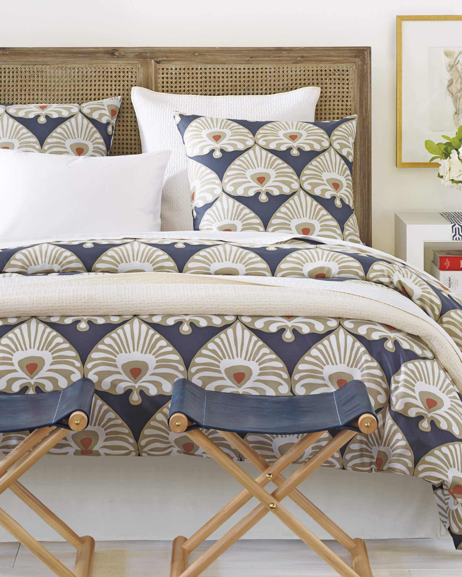 Palmetto Duvet Cover