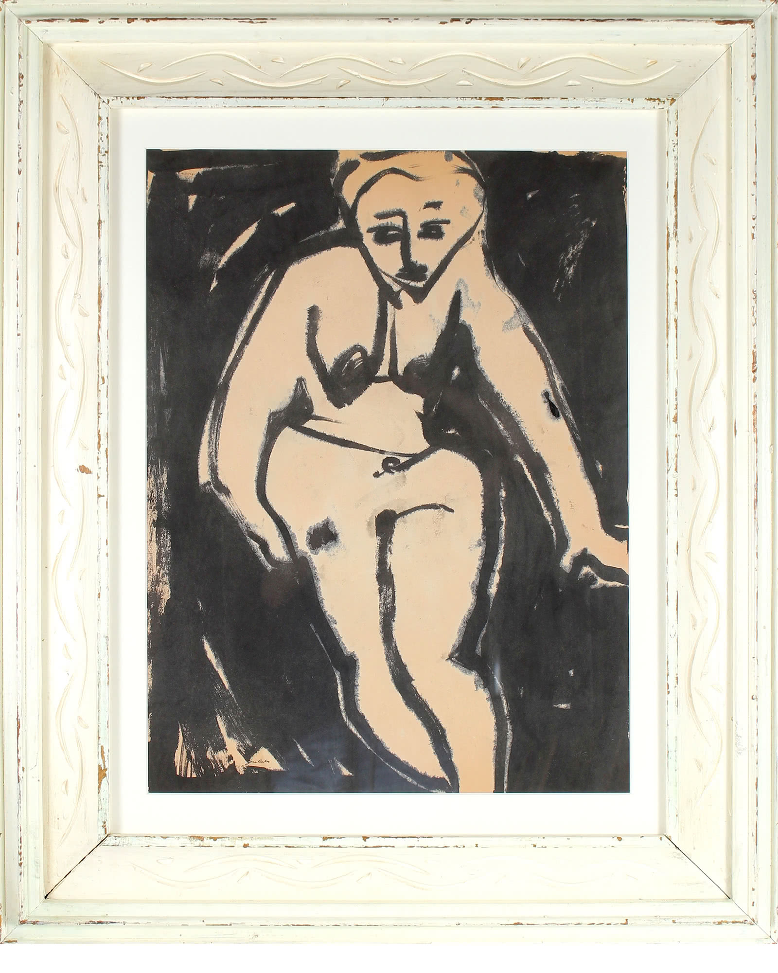Seated Nude by Jane Rades