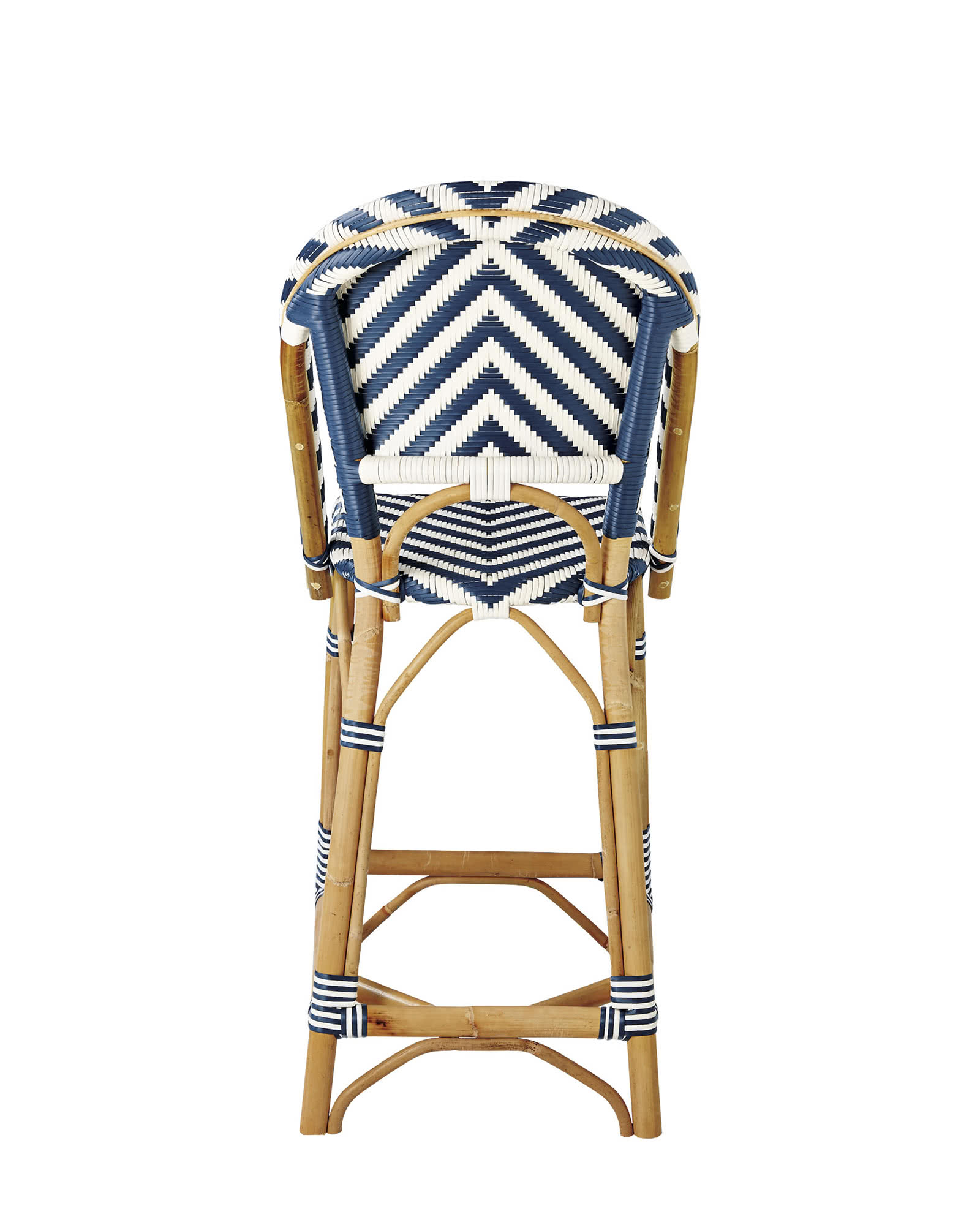 Chevron Riviera Counter Stool