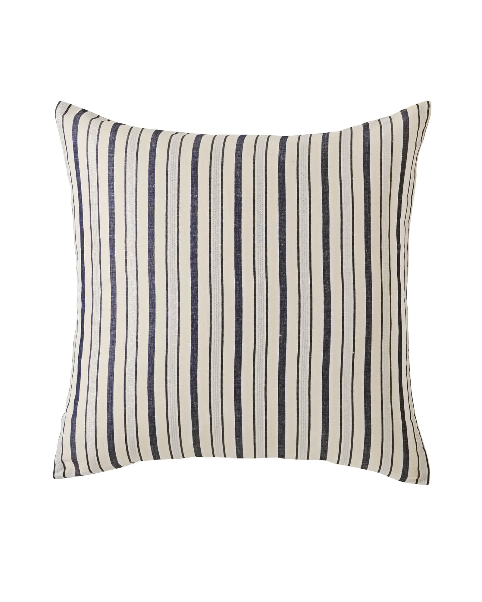 Metallic Stripe Euro Sham