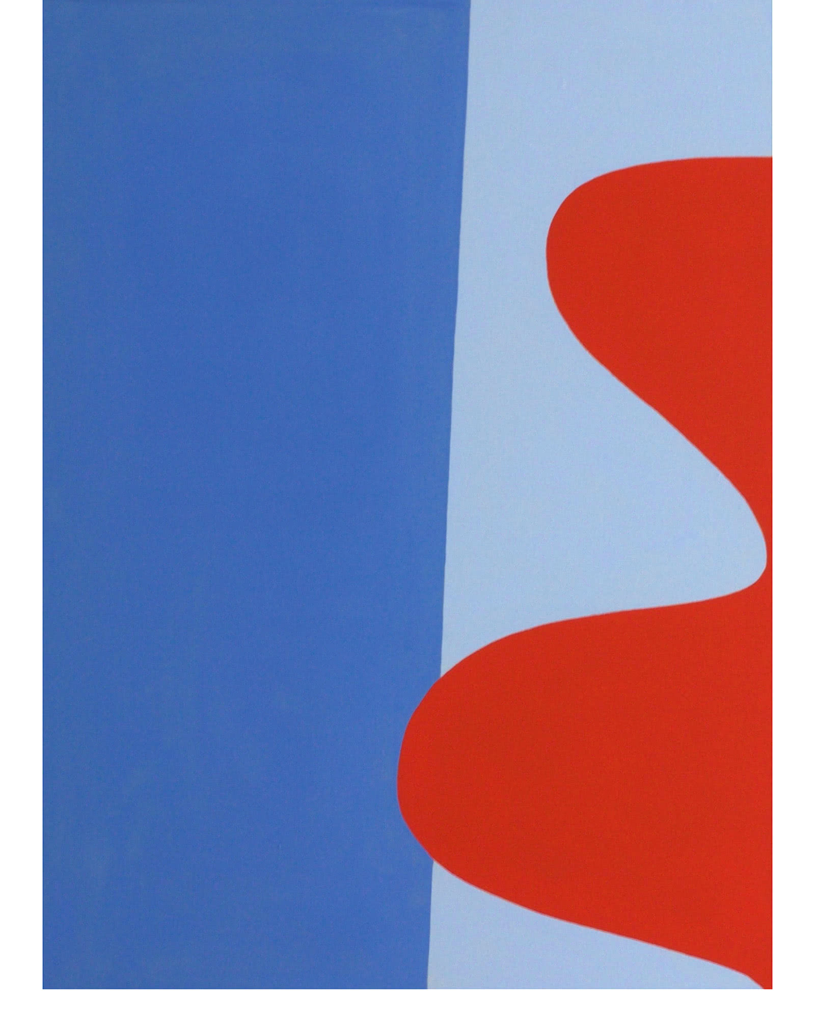 """""""Red, Blue 3"""" by Laurie Fisher"""