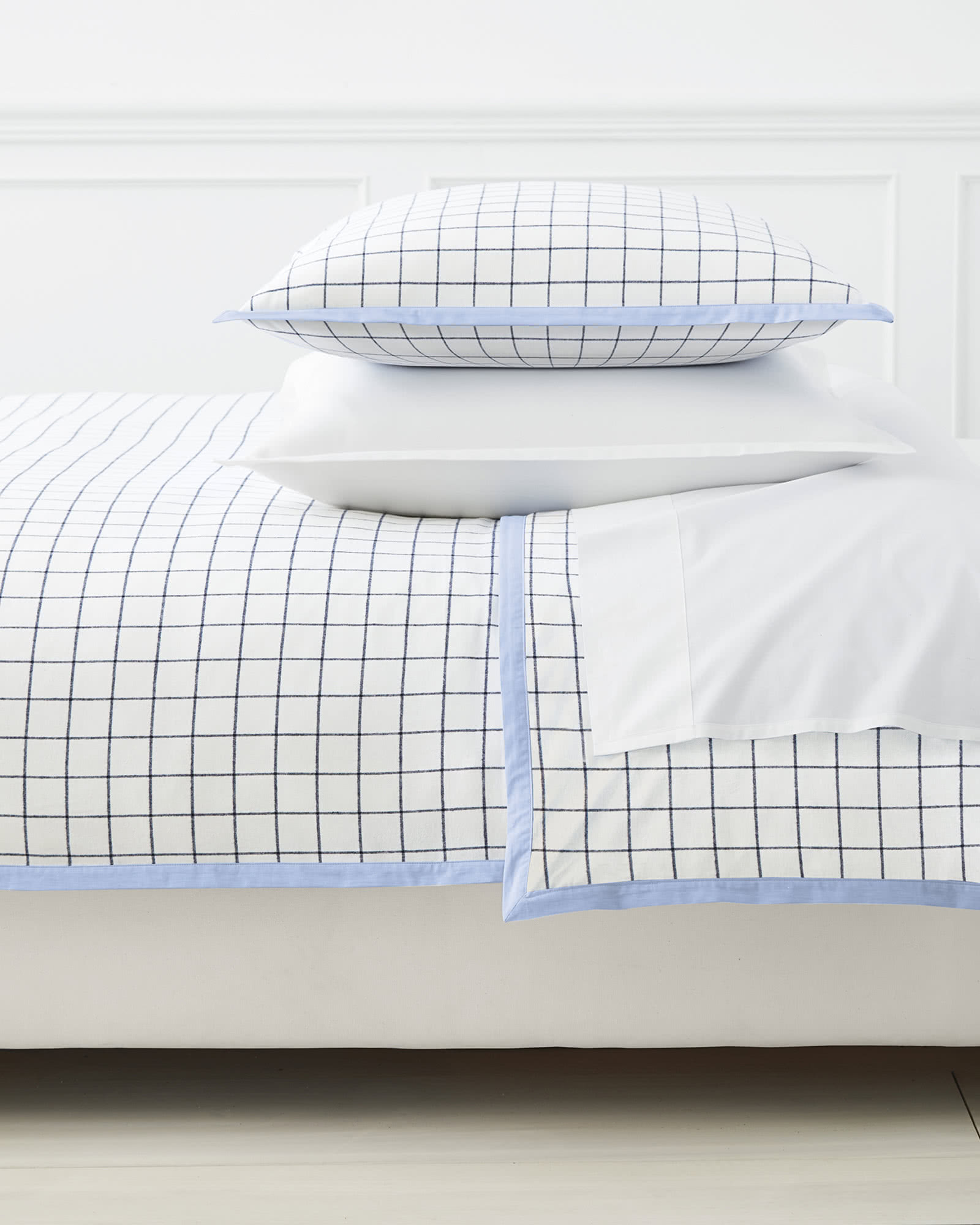 Harbor Flannel Duvet