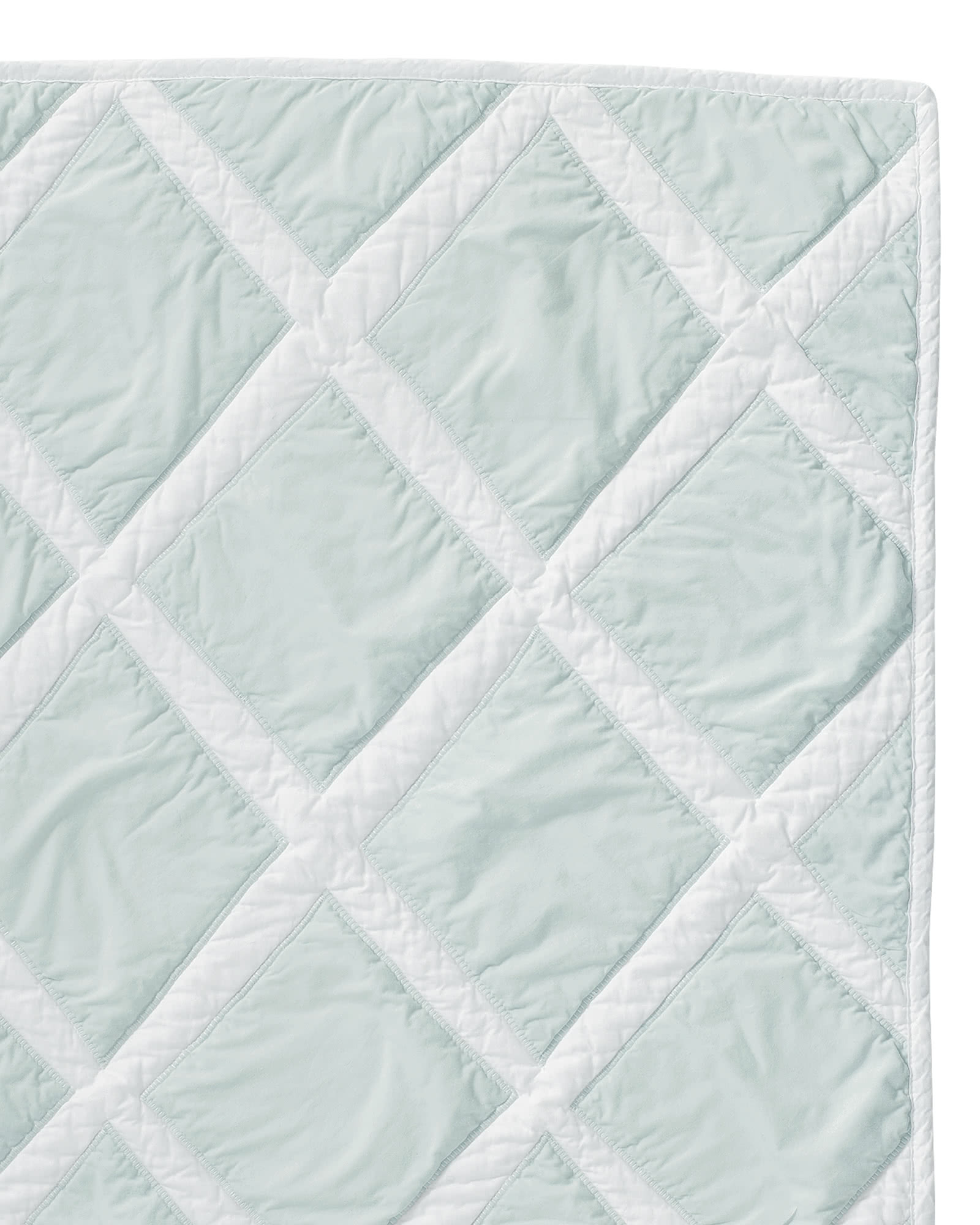 Serena And Lilly Diamond Quilt Sham Serena Lily