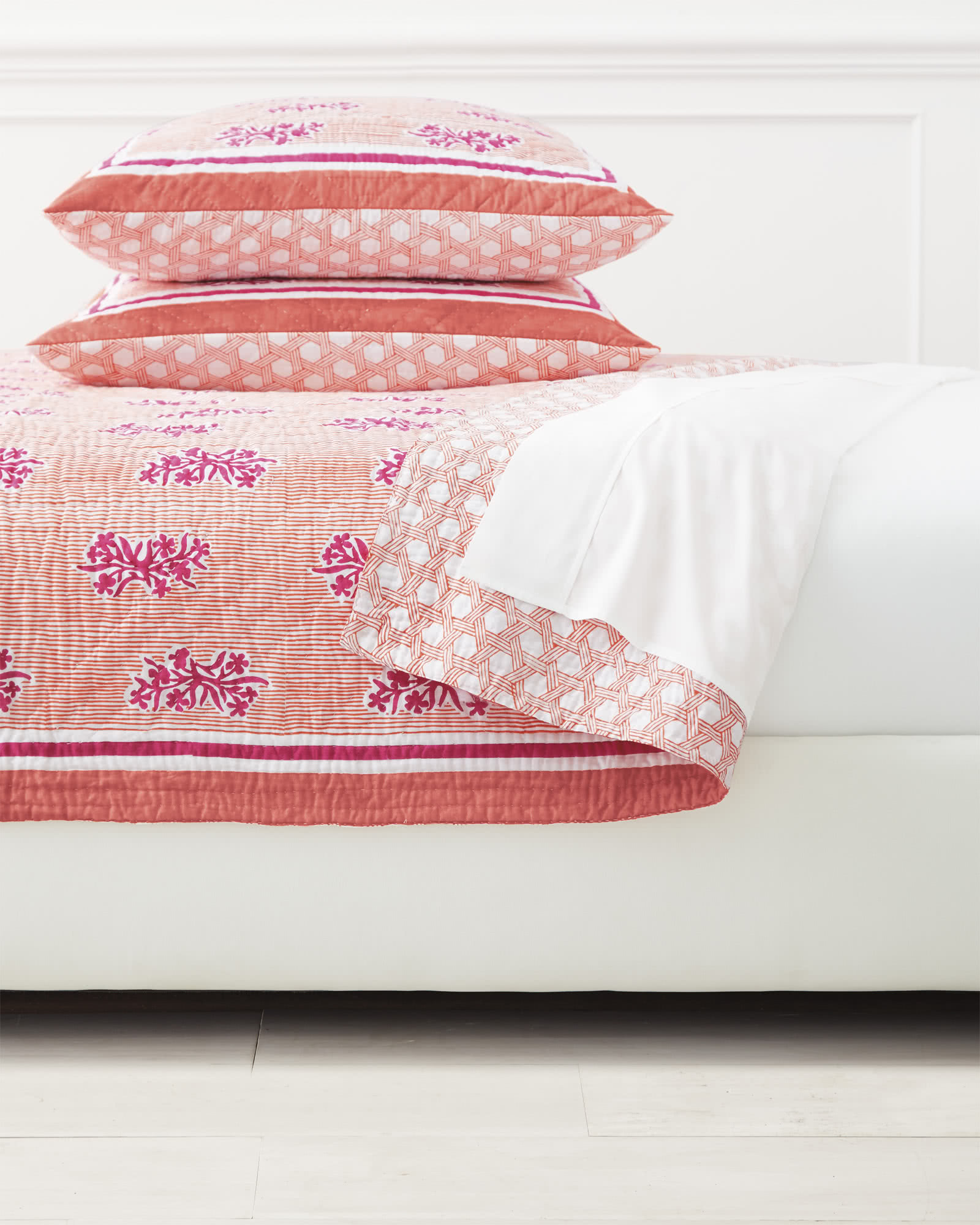 Amalfi Quilted Shams