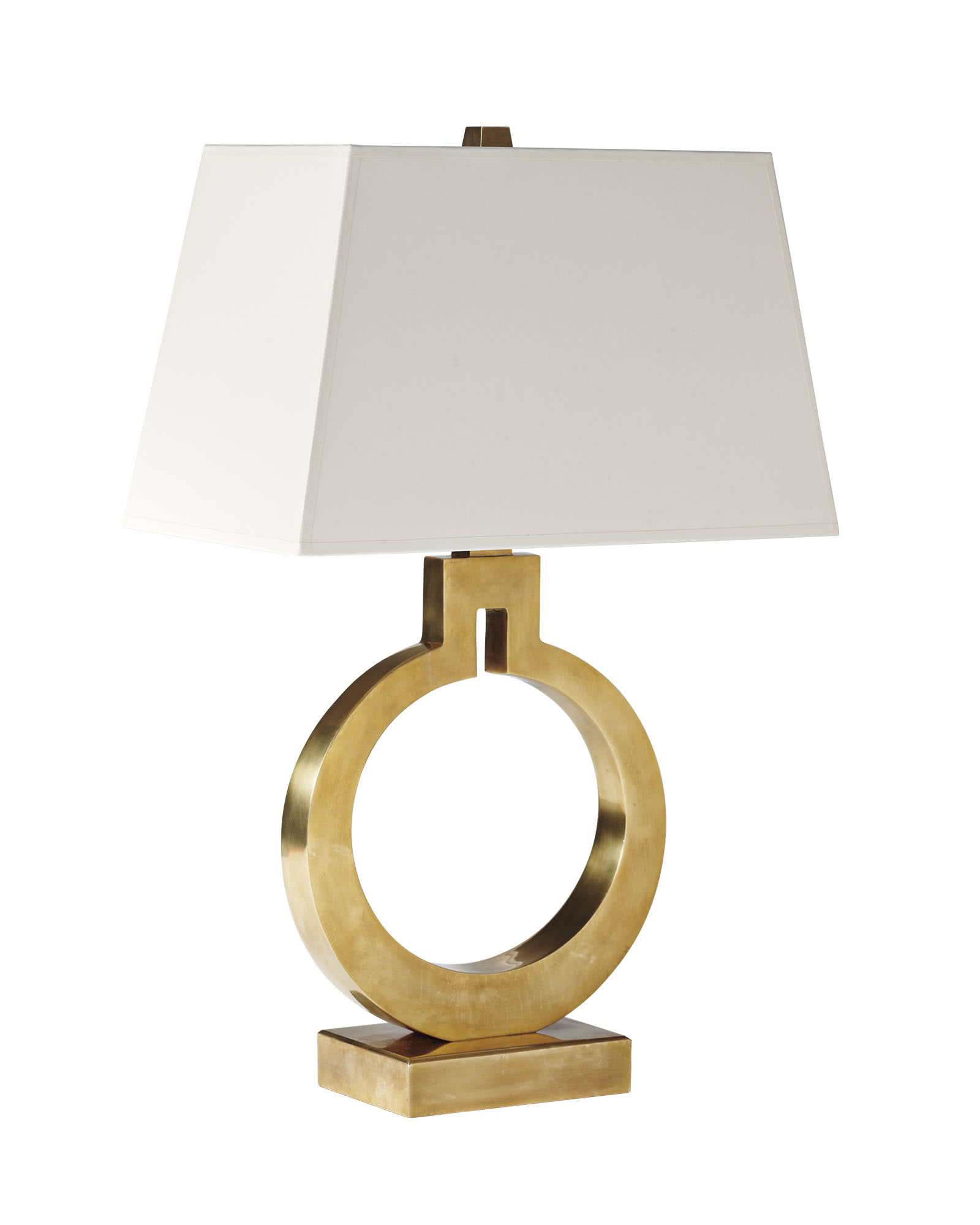 Brass Ring Table Lamp