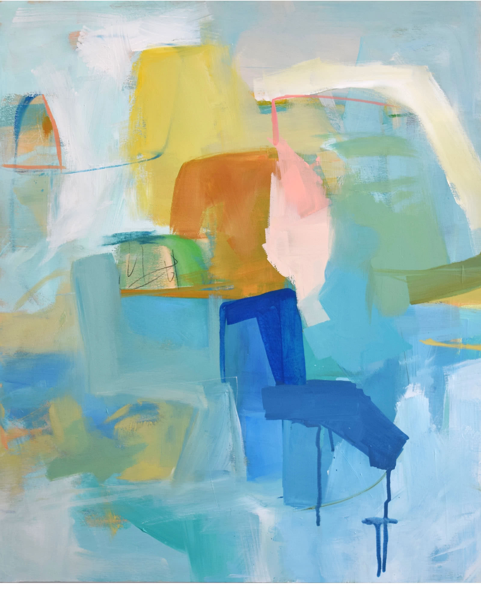 """""""Diving In"""" by Emily Brown"""