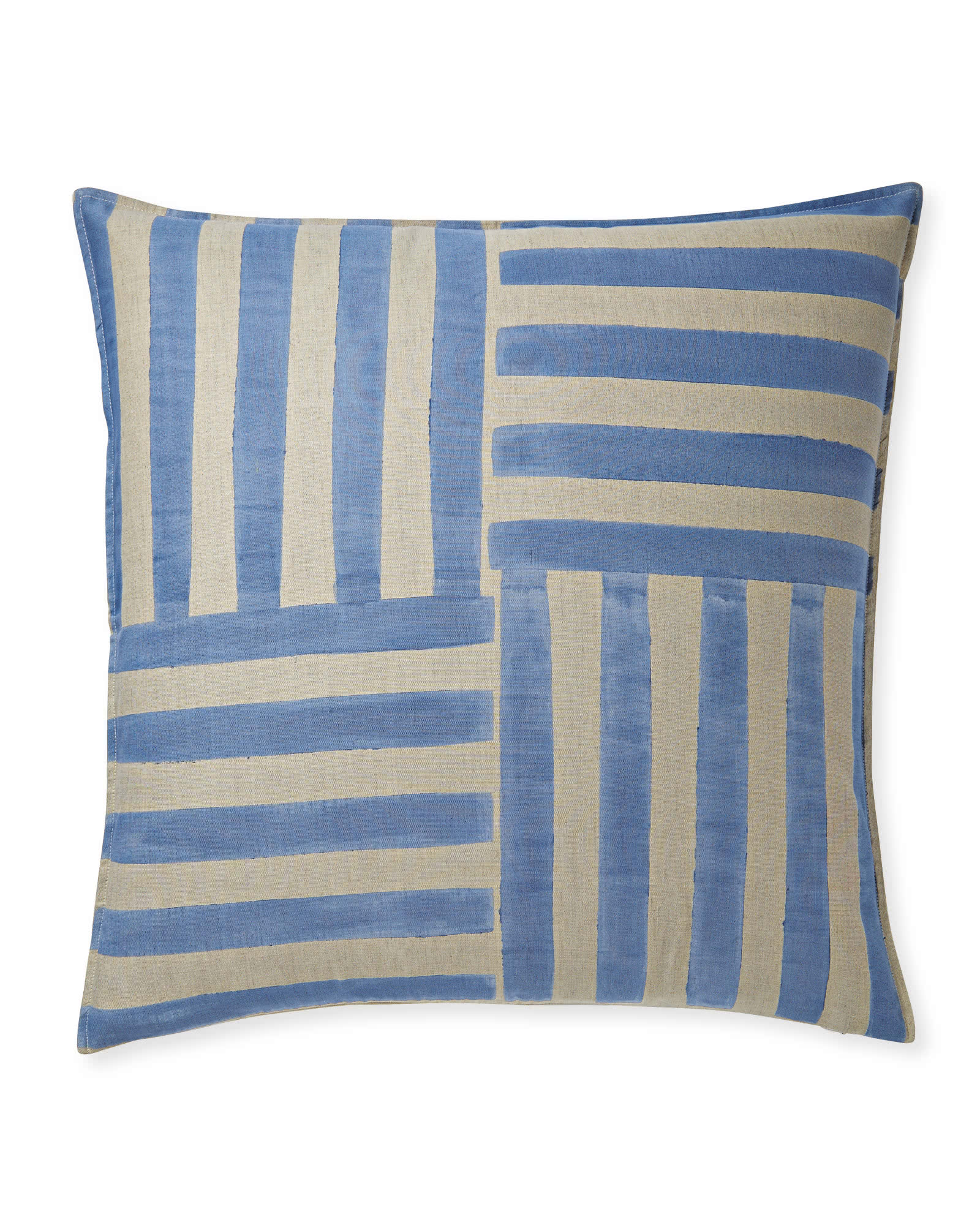 Nantucket Handpainted Pillow Cover