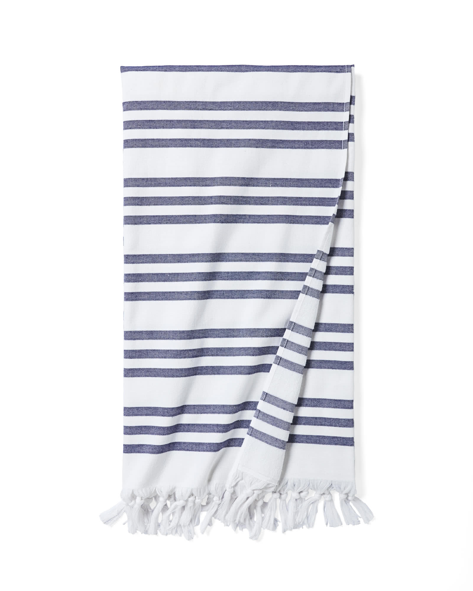 Pinstriped Fouta Beach Towel