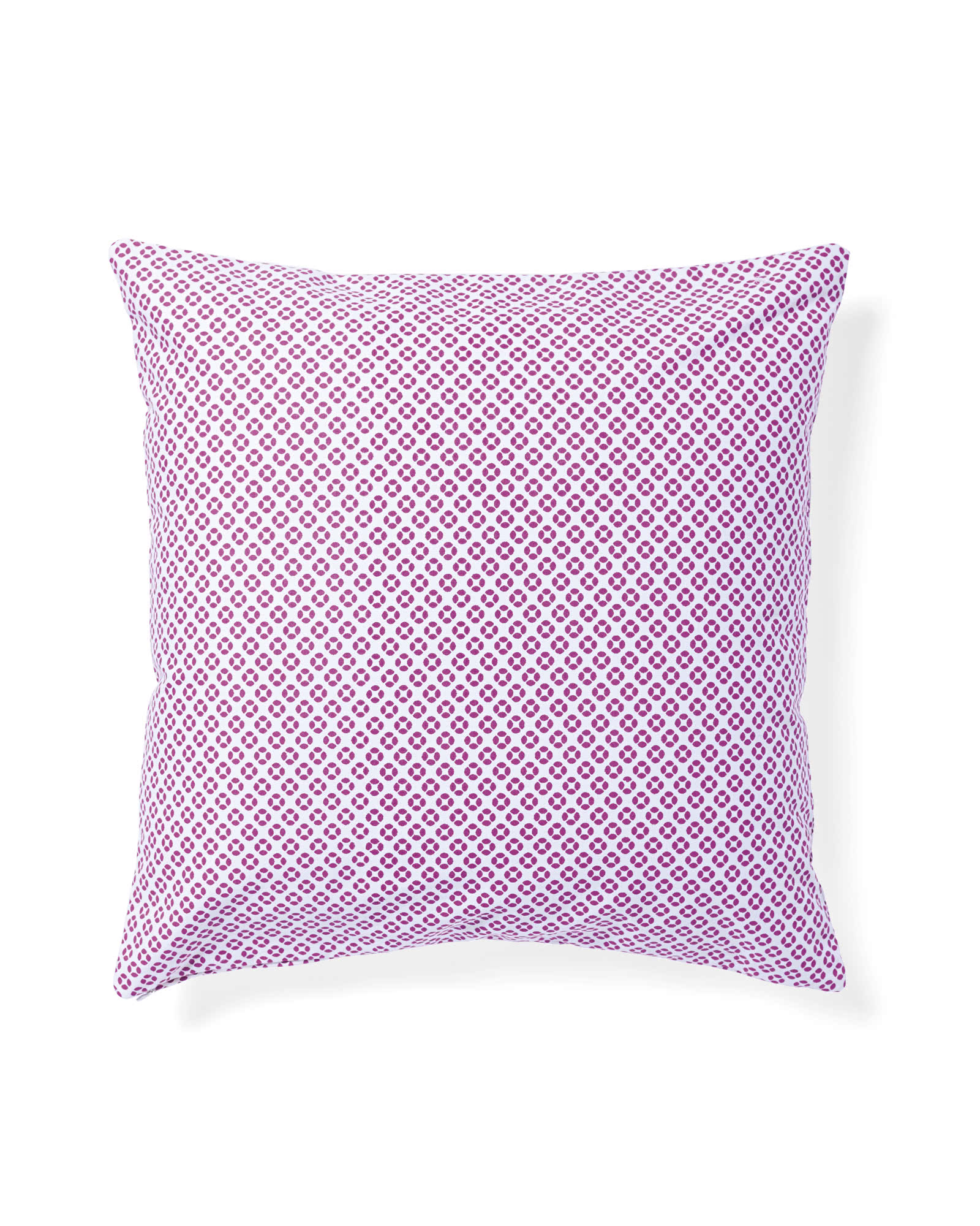 Cut Circle Pillow Cover