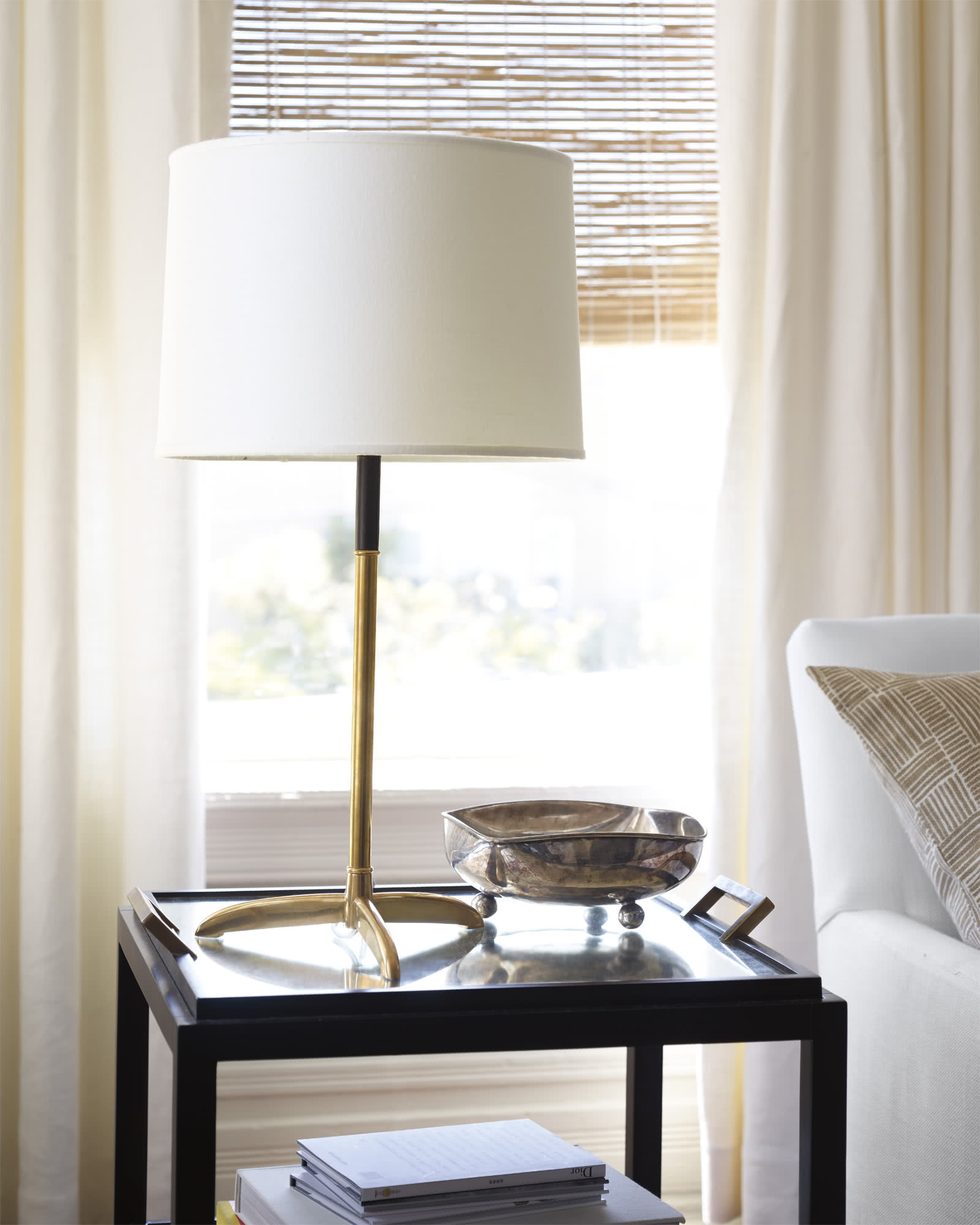 Cole Brass Table Lamp