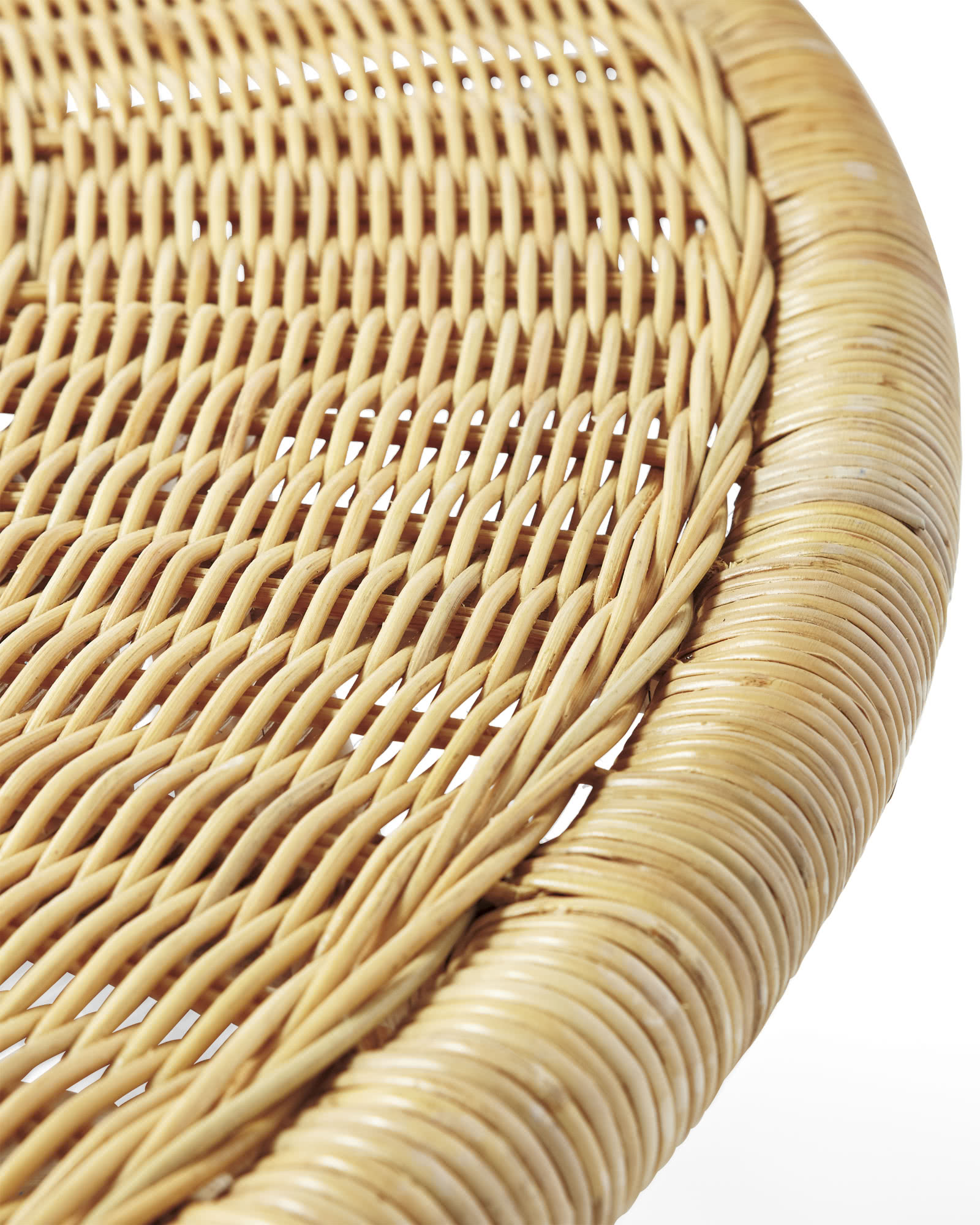 Anguilla Rattan Coffee Table Serena & Lily