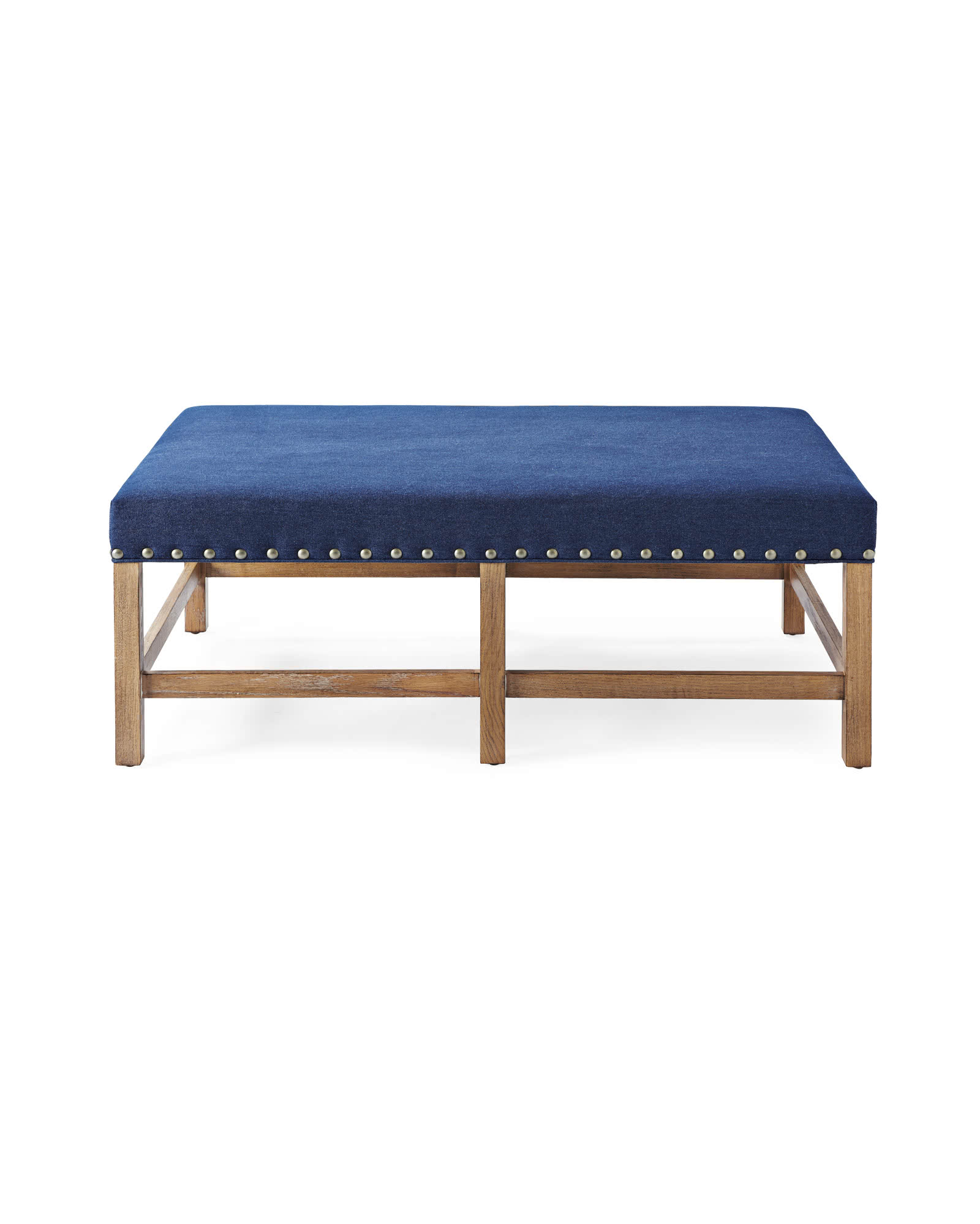 Clement Coffee Table Ottoman Serena & Lily