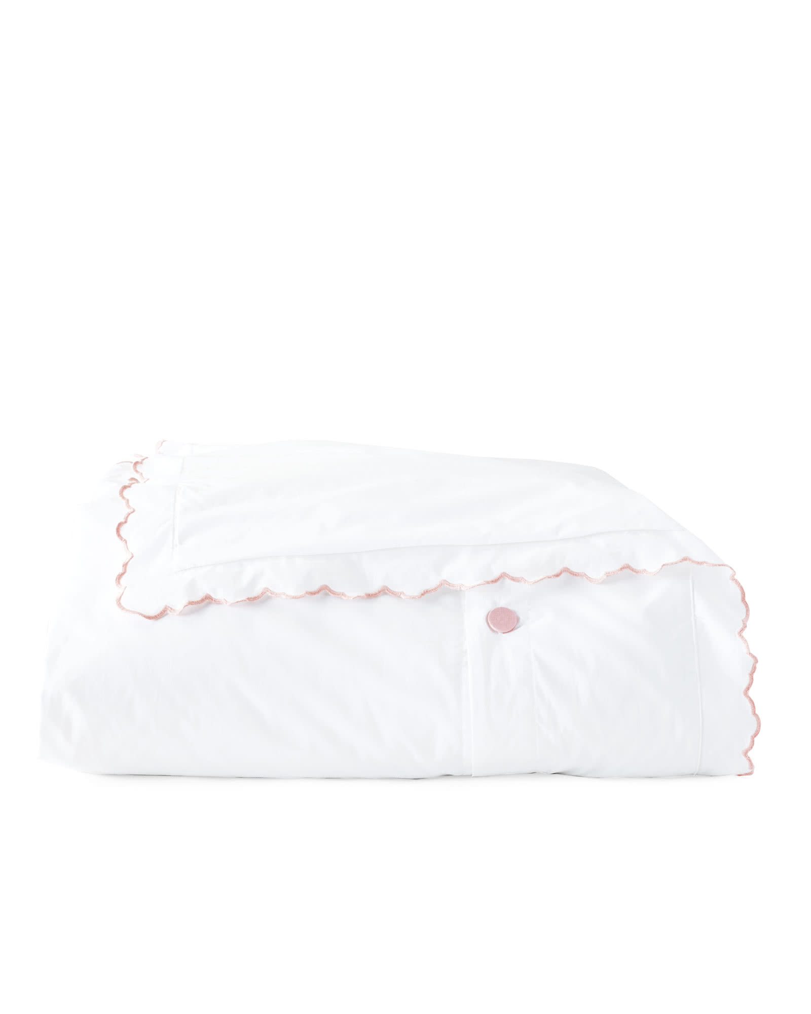 Scallop Embroidered Duvet Cover