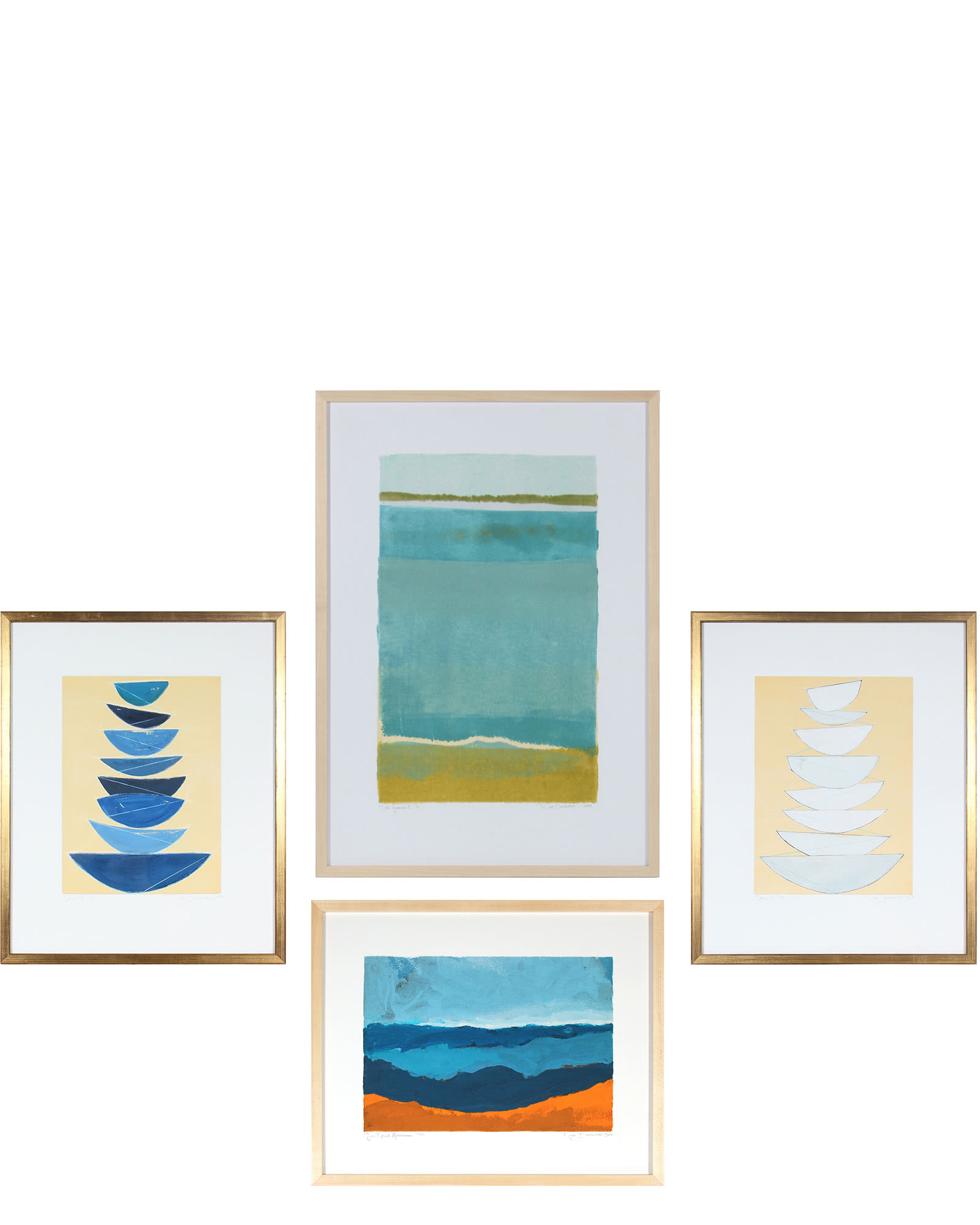 """""""Gallery Wall, Set of 4"""" by Rob Delamater"""