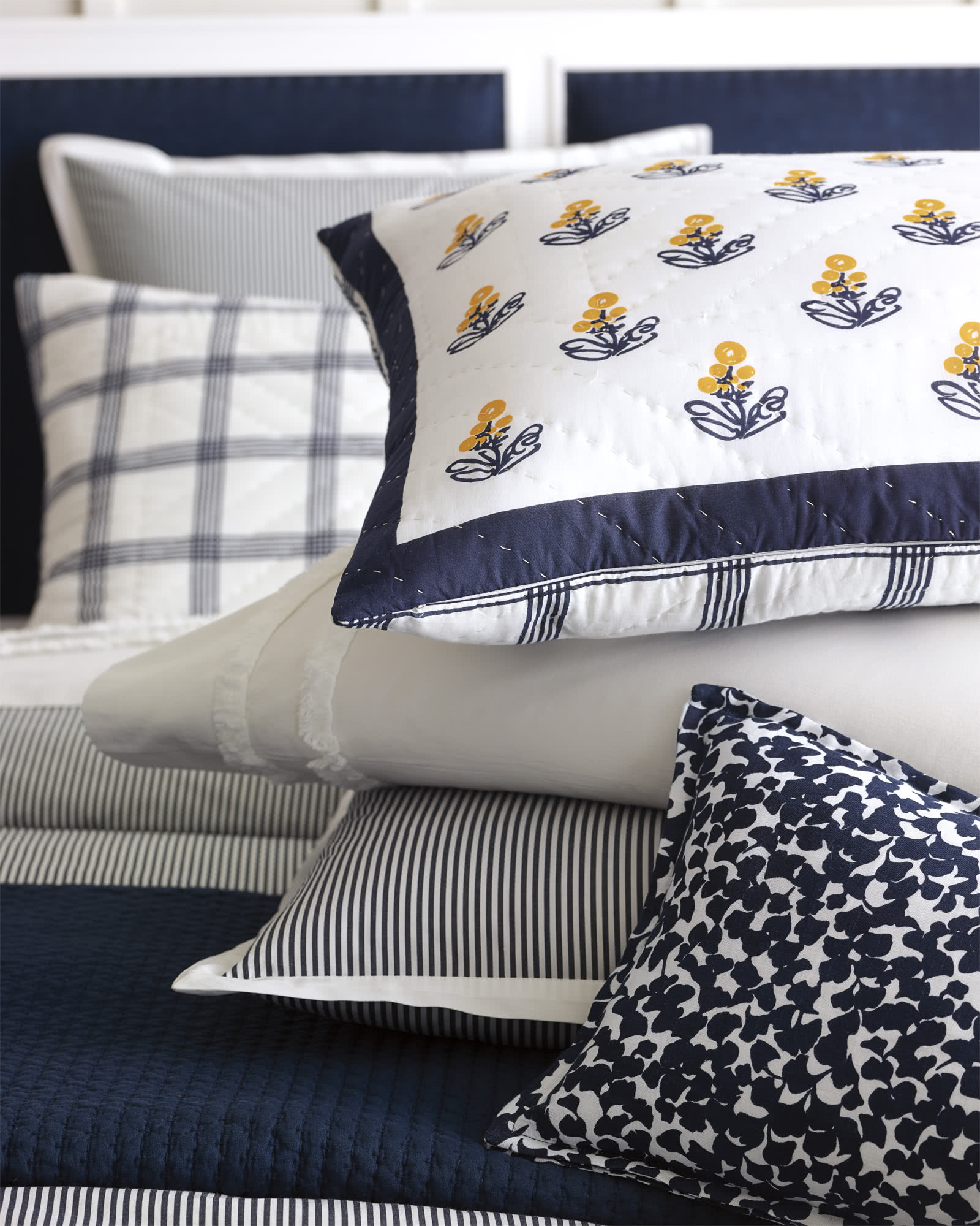 Cannes Quilted Shams