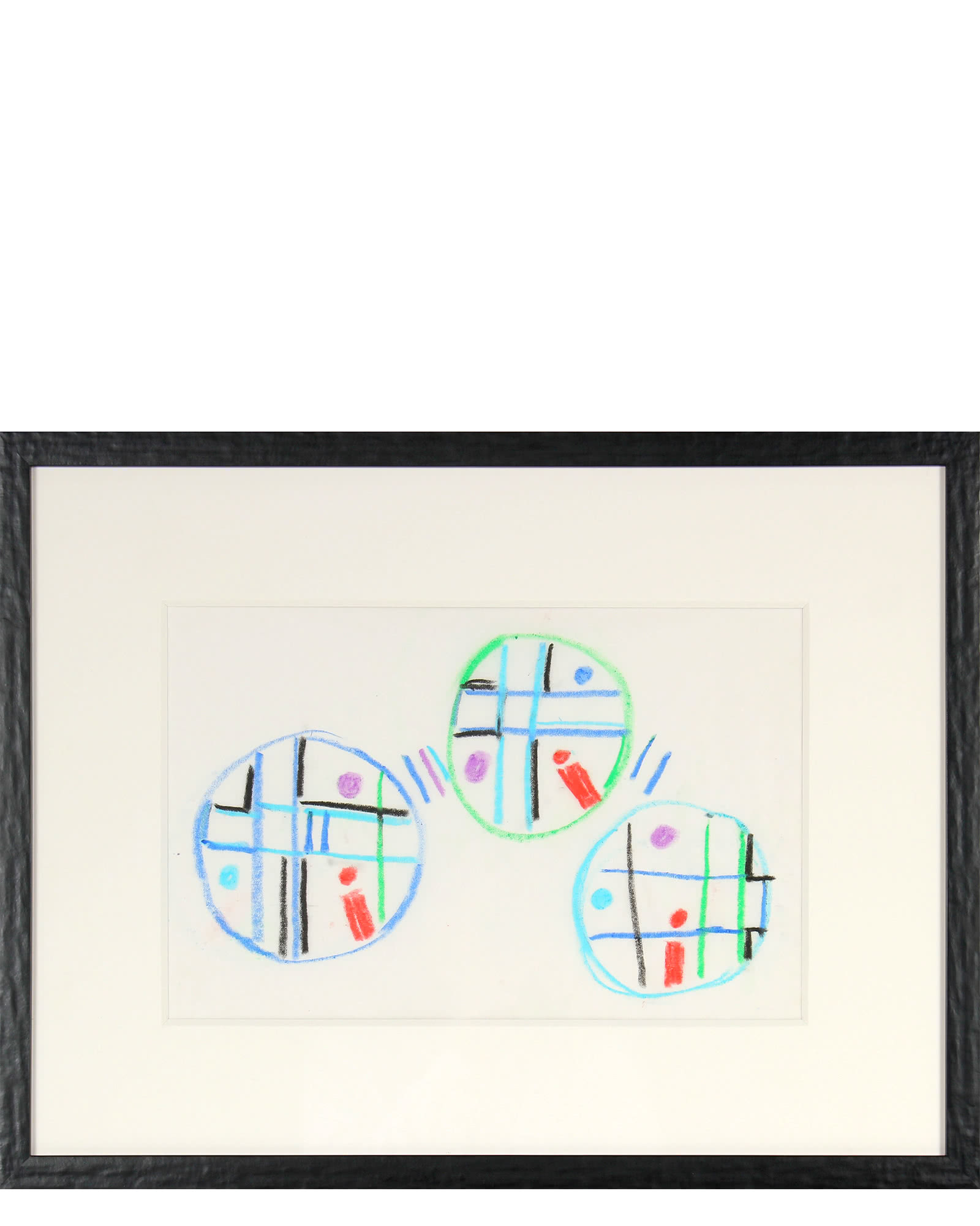 """Trio of Circles in Abstraction"" by Paul W. McCoy"