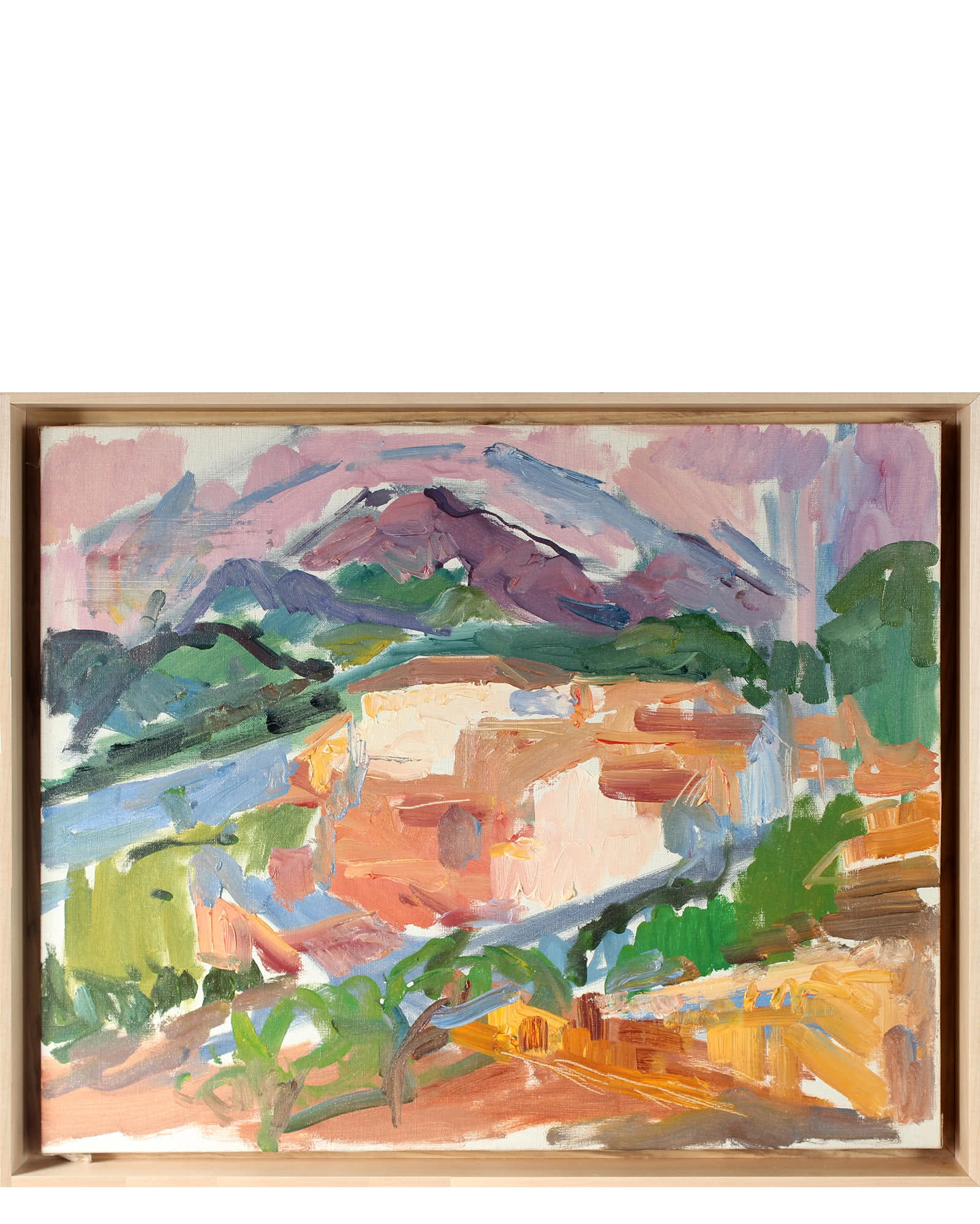 Abstracted Landscape by Gerald Wasserman