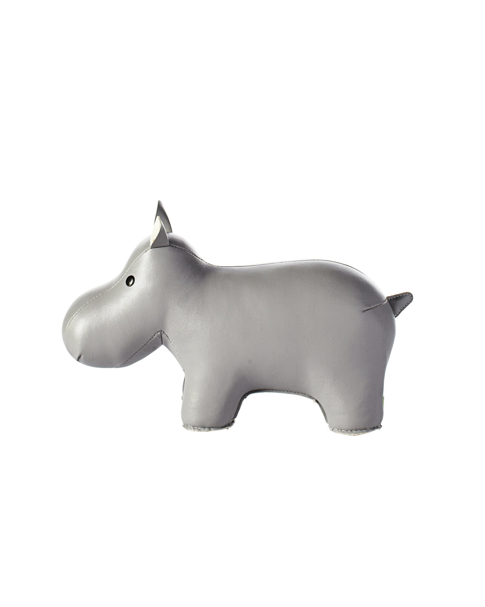 Menagerie Bookend - Grey Hippo